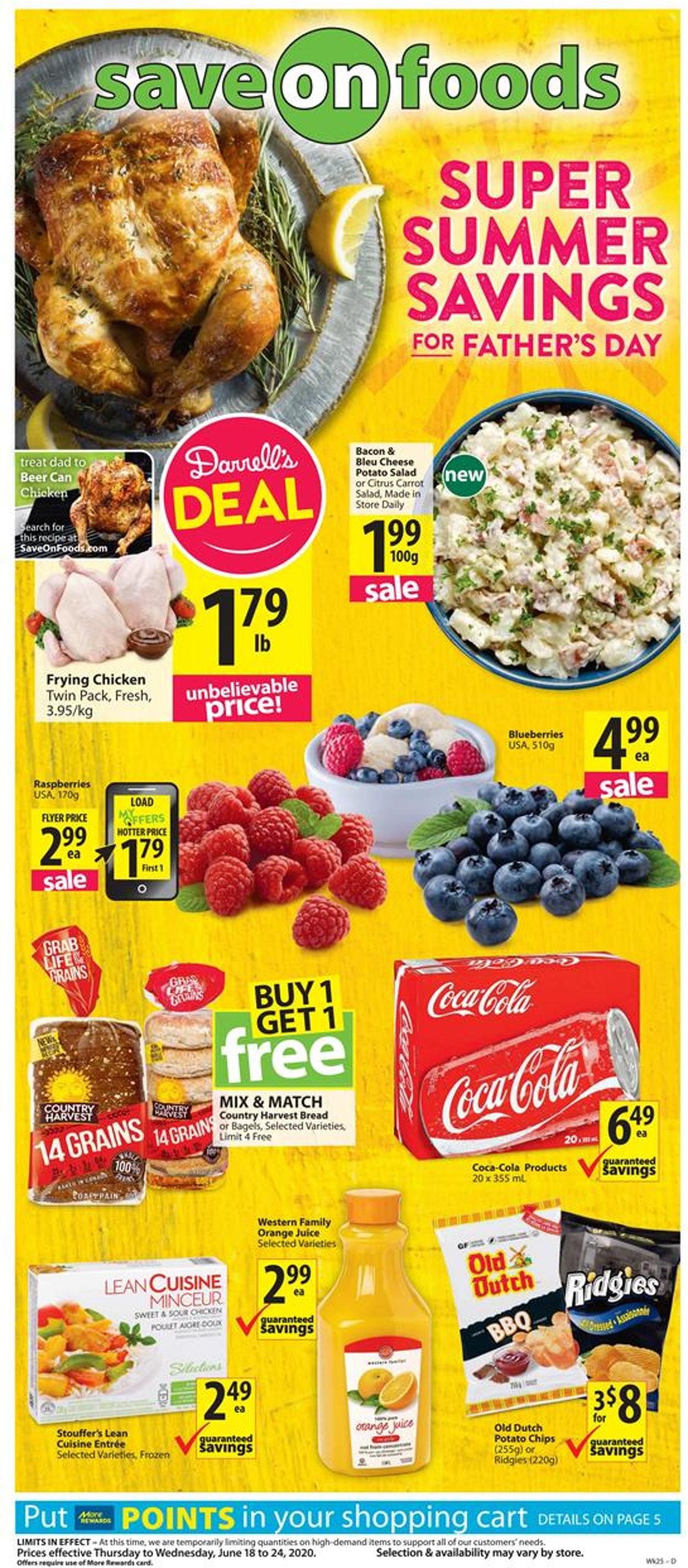 Save-On-Foods Flyer - 06/18-06/24/2020