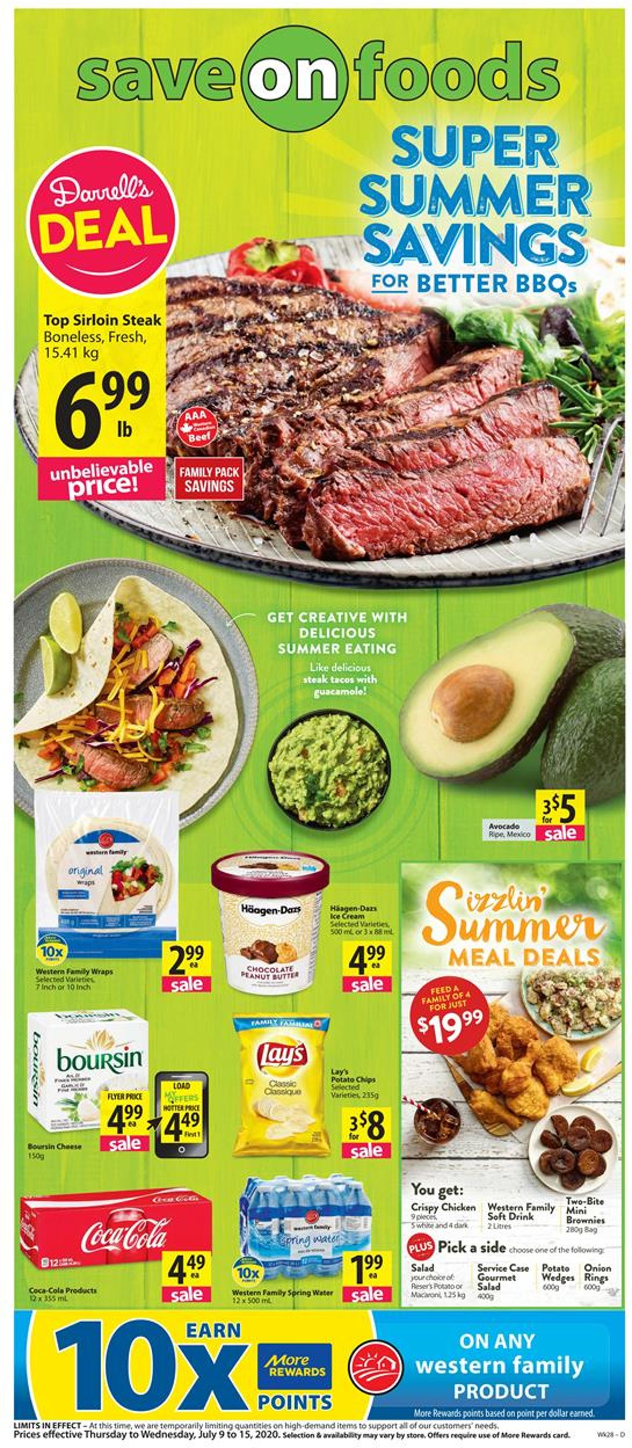 Save-On-Foods Flyer - 07/09-07/15/2020