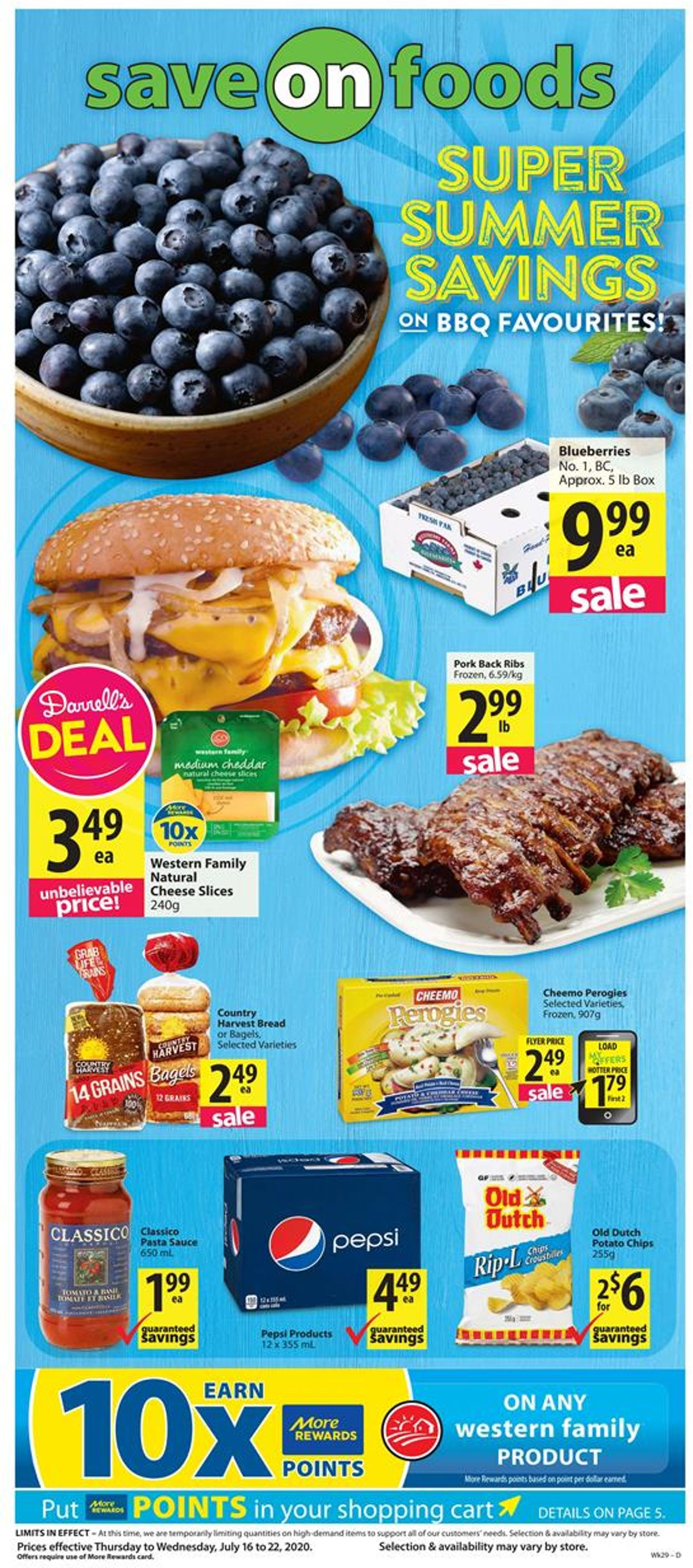 Save-On-Foods Flyer - 07/16-07/22/2020