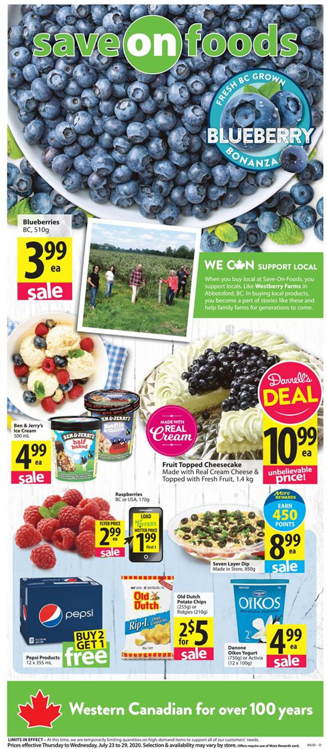 Save-On-Foods Flyer - 07/23-07/29/2020
