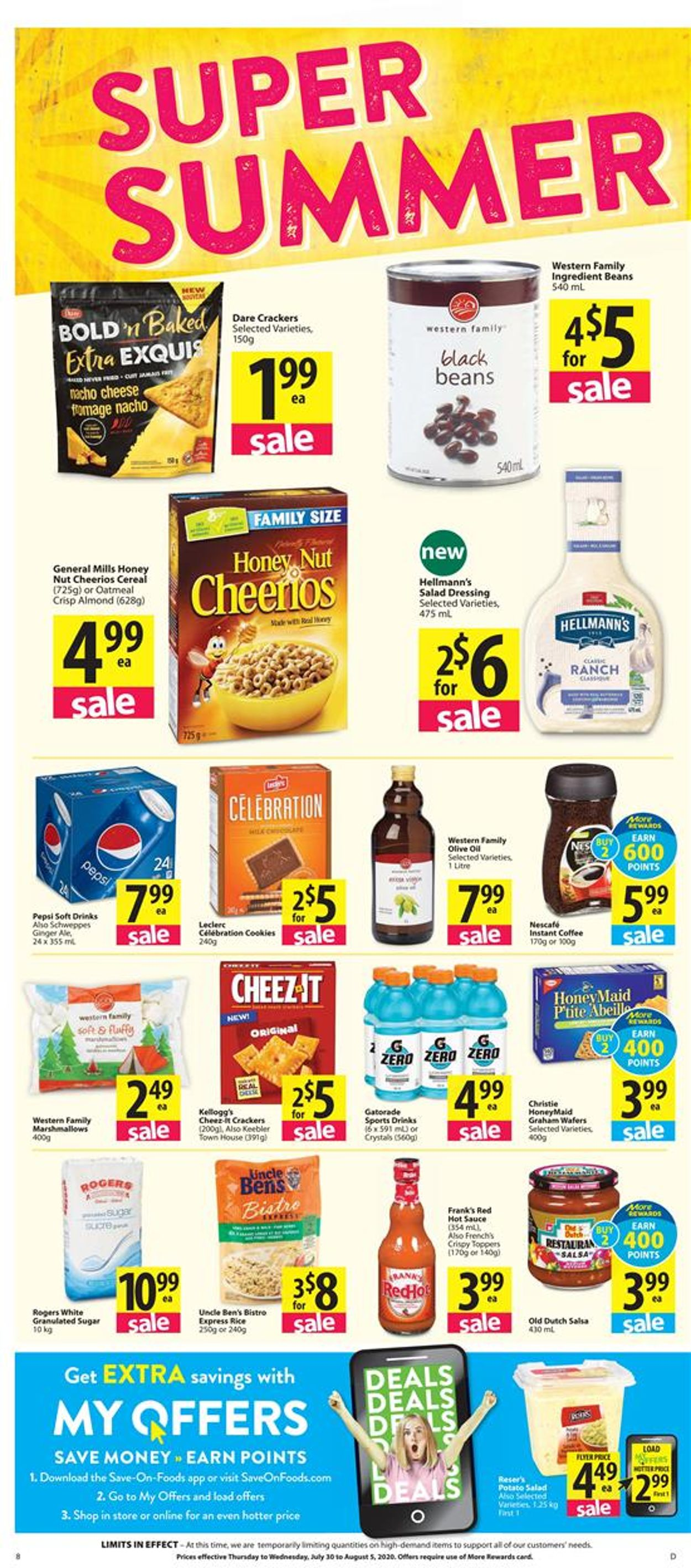Save-On-Foods Flyer - 07/30-08/05/2020 (Page 8)