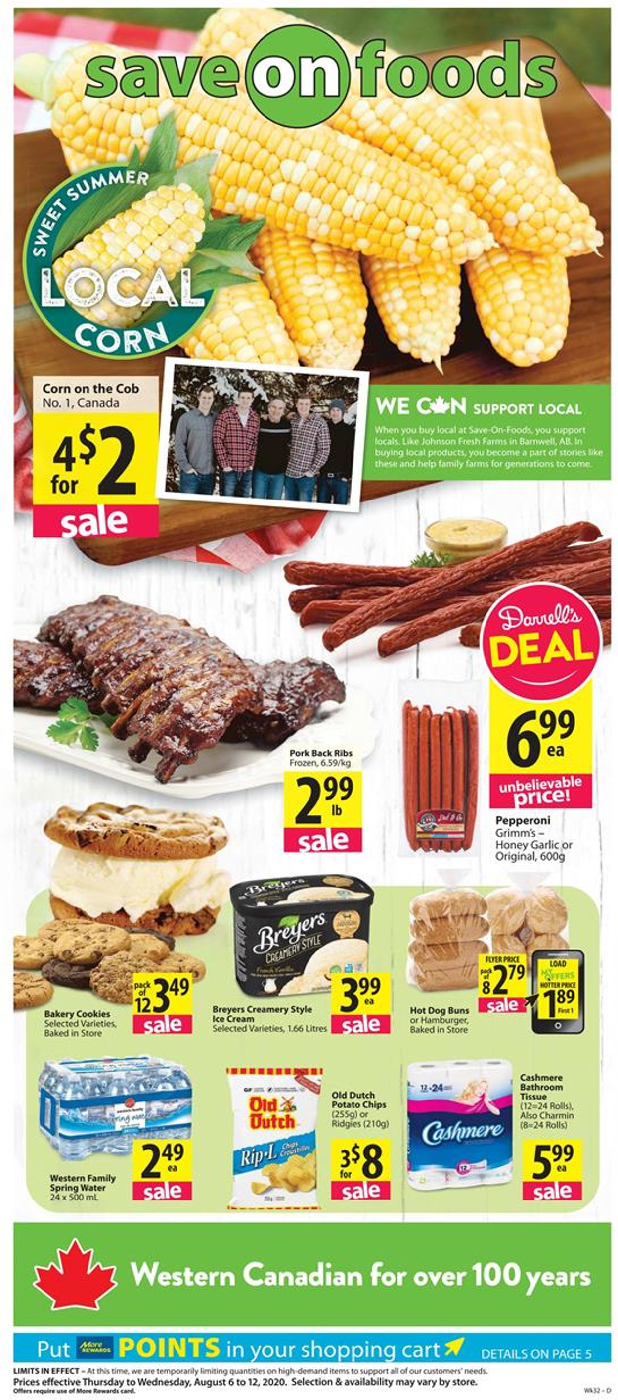 Save-On-Foods Flyer - 08/06-08/12/2020