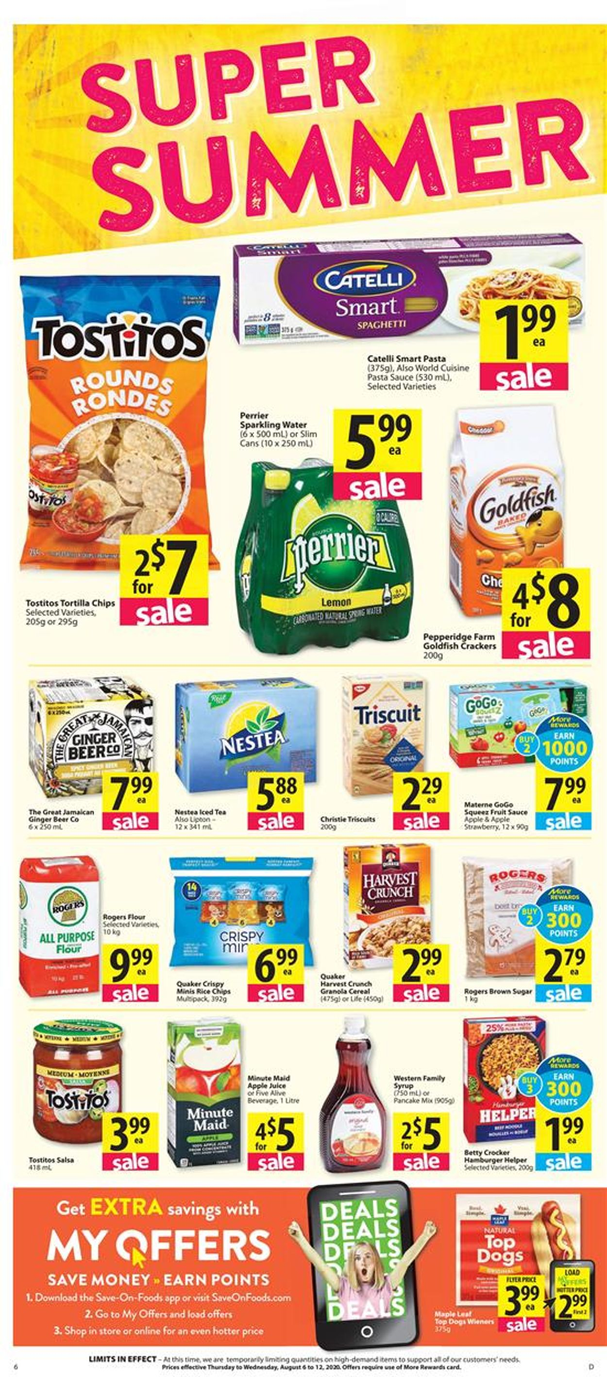 Save-On-Foods Flyer - 08/06-08/12/2020 (Page 6)