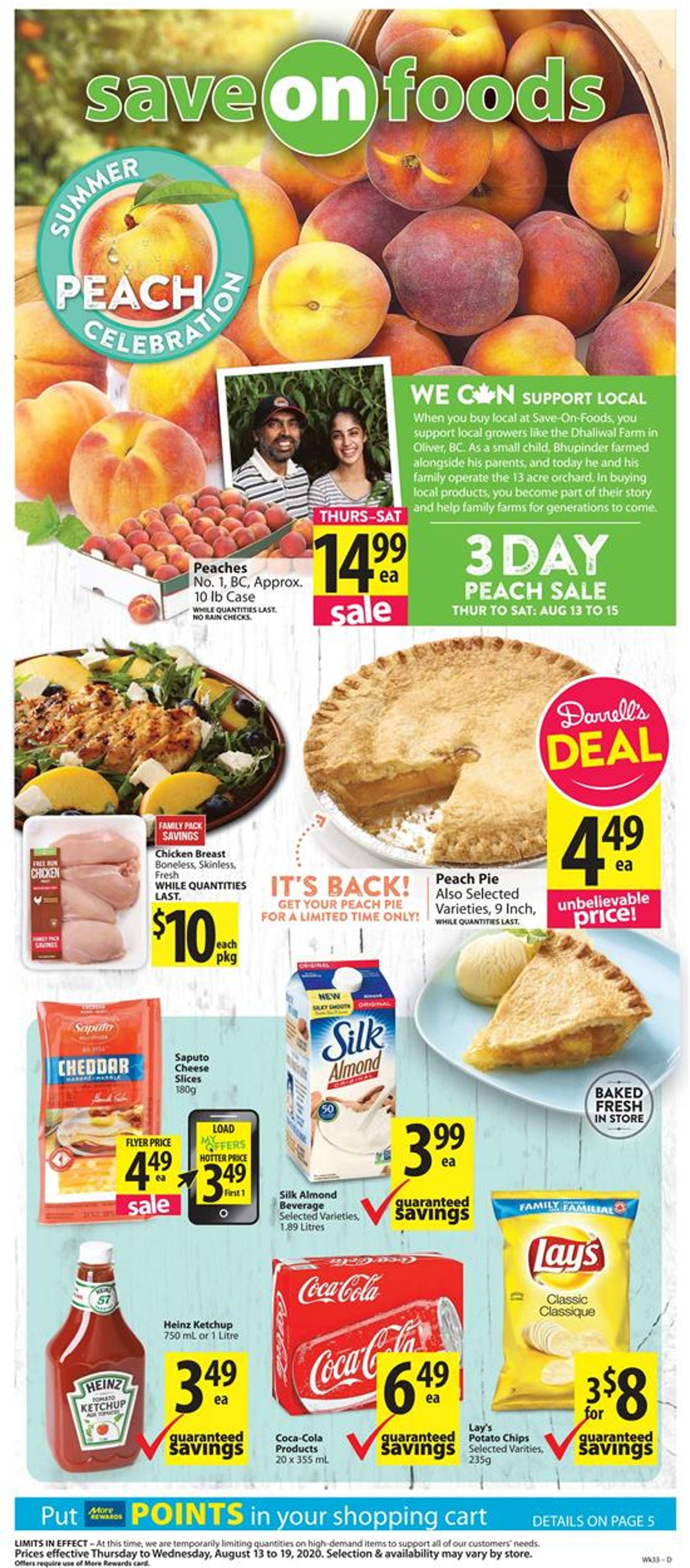 Save-On-Foods Flyer - 08/13-08/19/2020