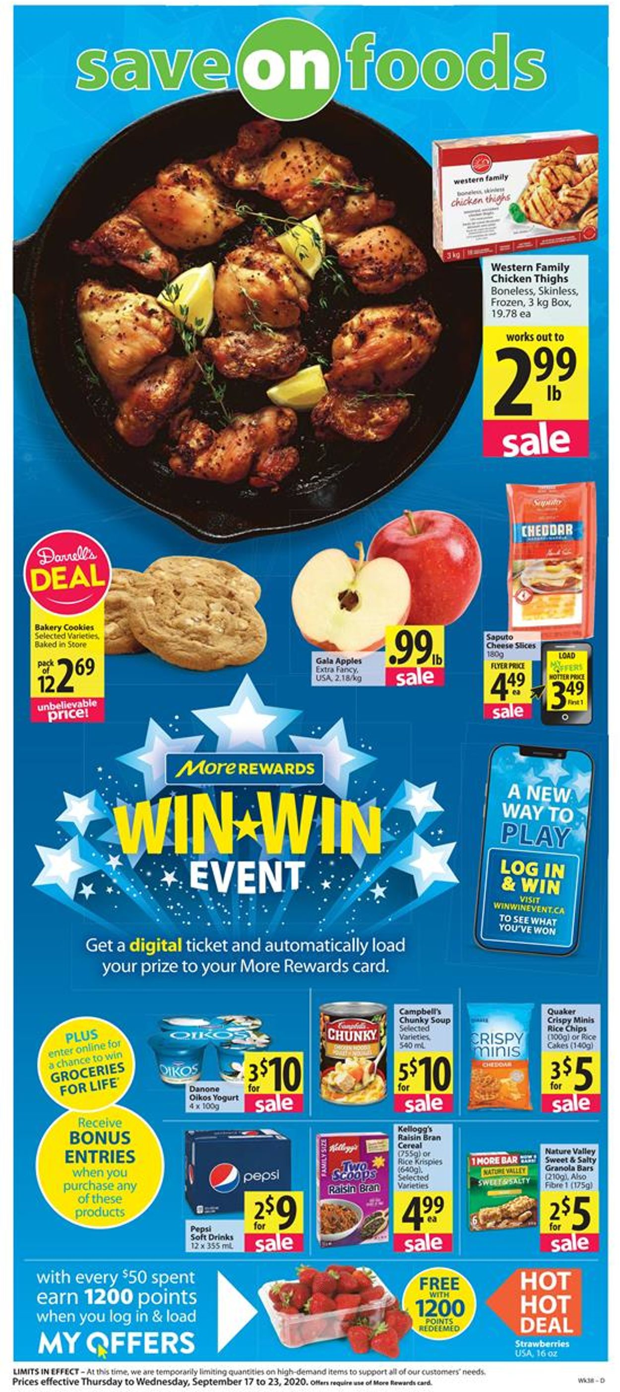 Save-On-Foods Flyer - 09/17-09/23/2020