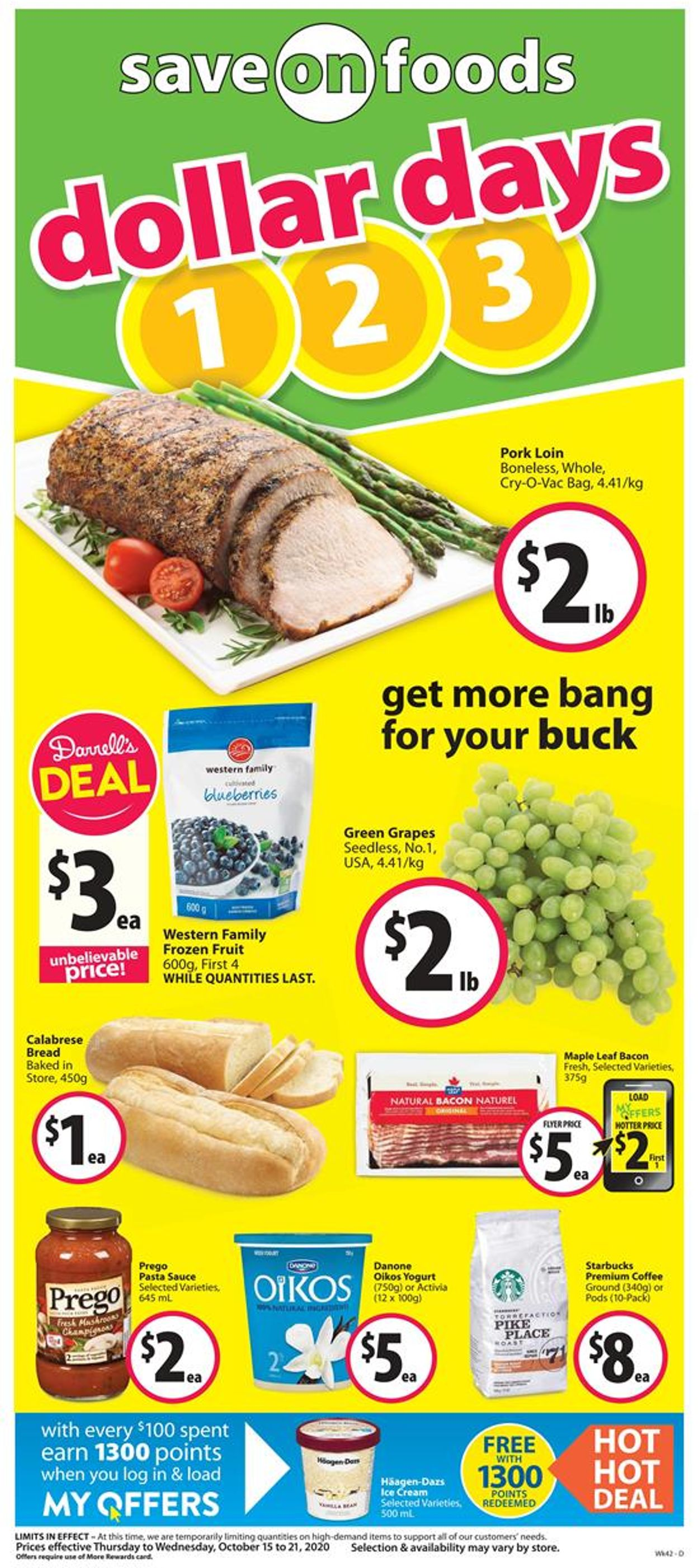 Save-On-Foods Flyer - 10/15-10/21/2020