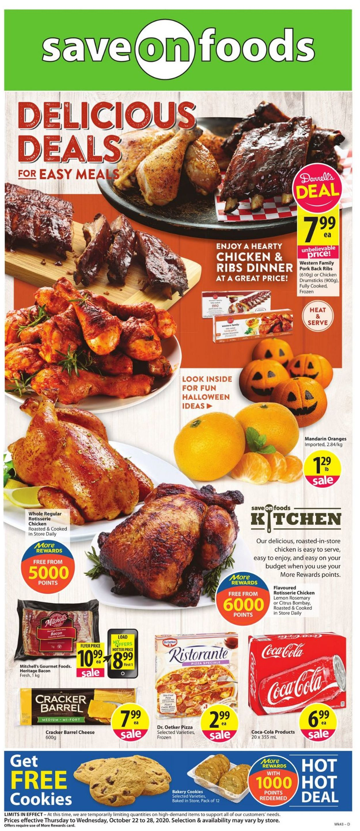 Save-On-Foods Flyer - 10/22-10/28/2020