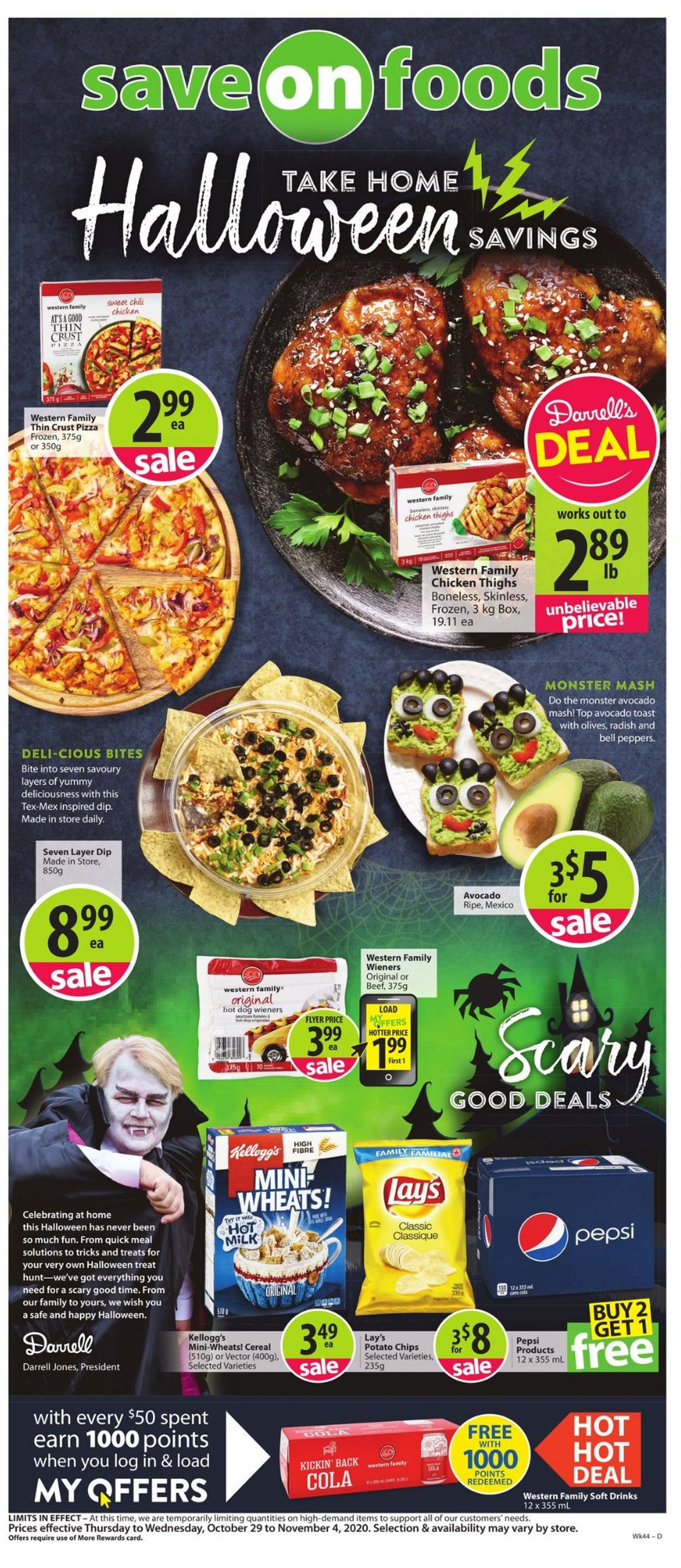 Save-On-Foods Flyer - 10/29-11/04/2020