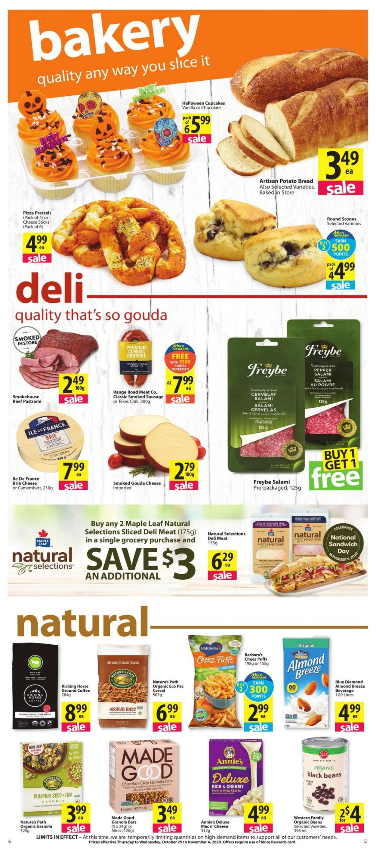 Save-On-Foods Flyer - 10/29-11/04/2020 (Page 6)