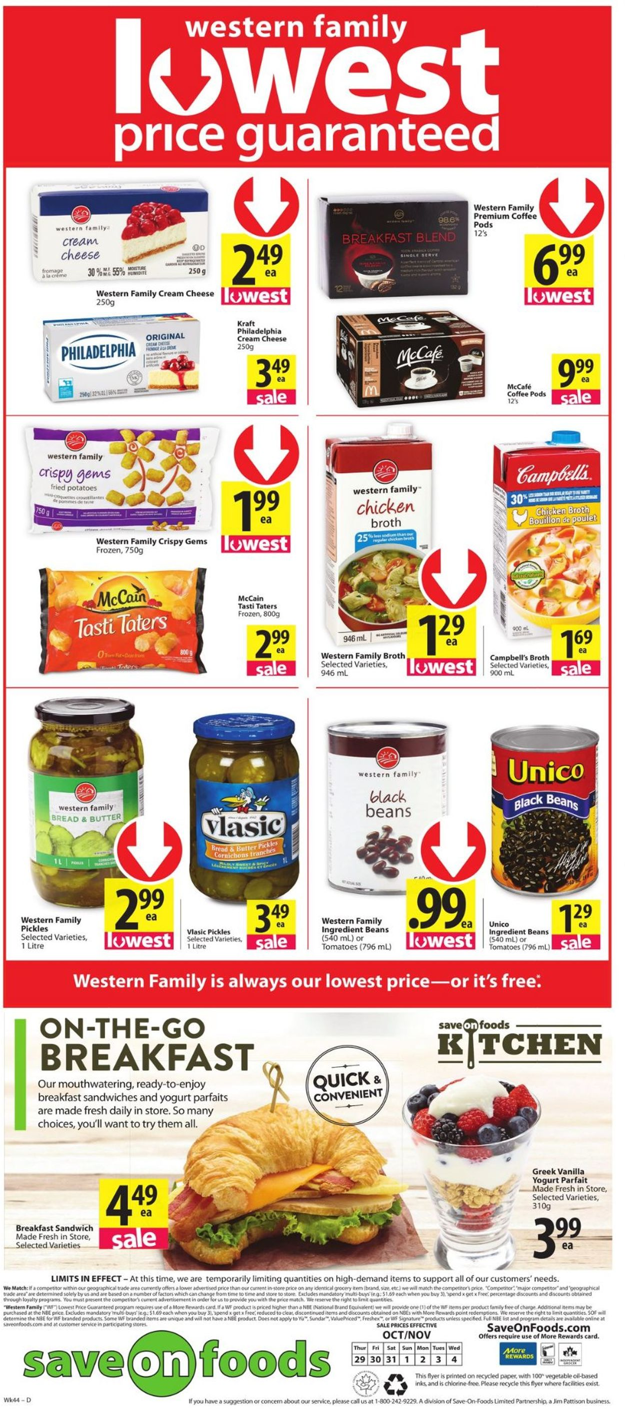 Save-On-Foods Flyer - 10/29-11/04/2020 (Page 12)