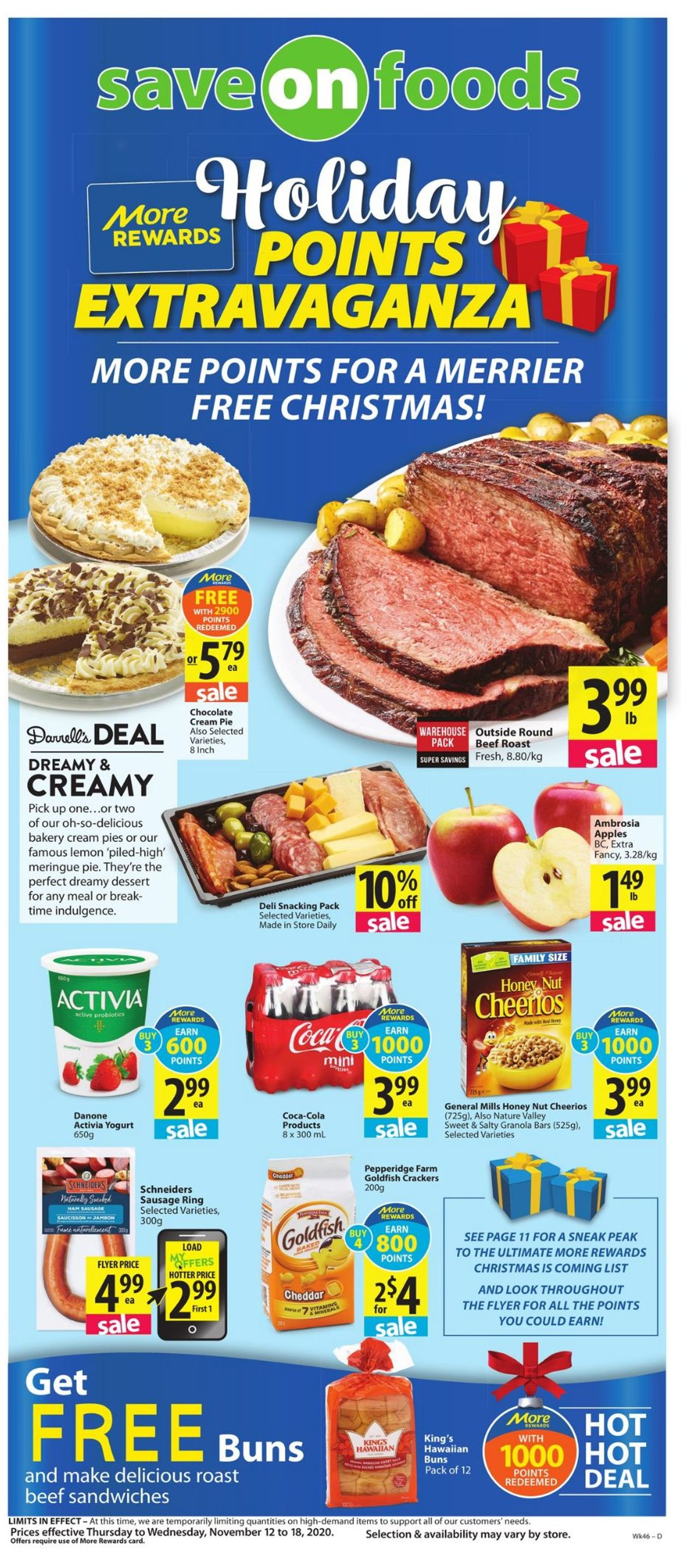 Save-On-Foods Flyer - 11/12-11/18/2020