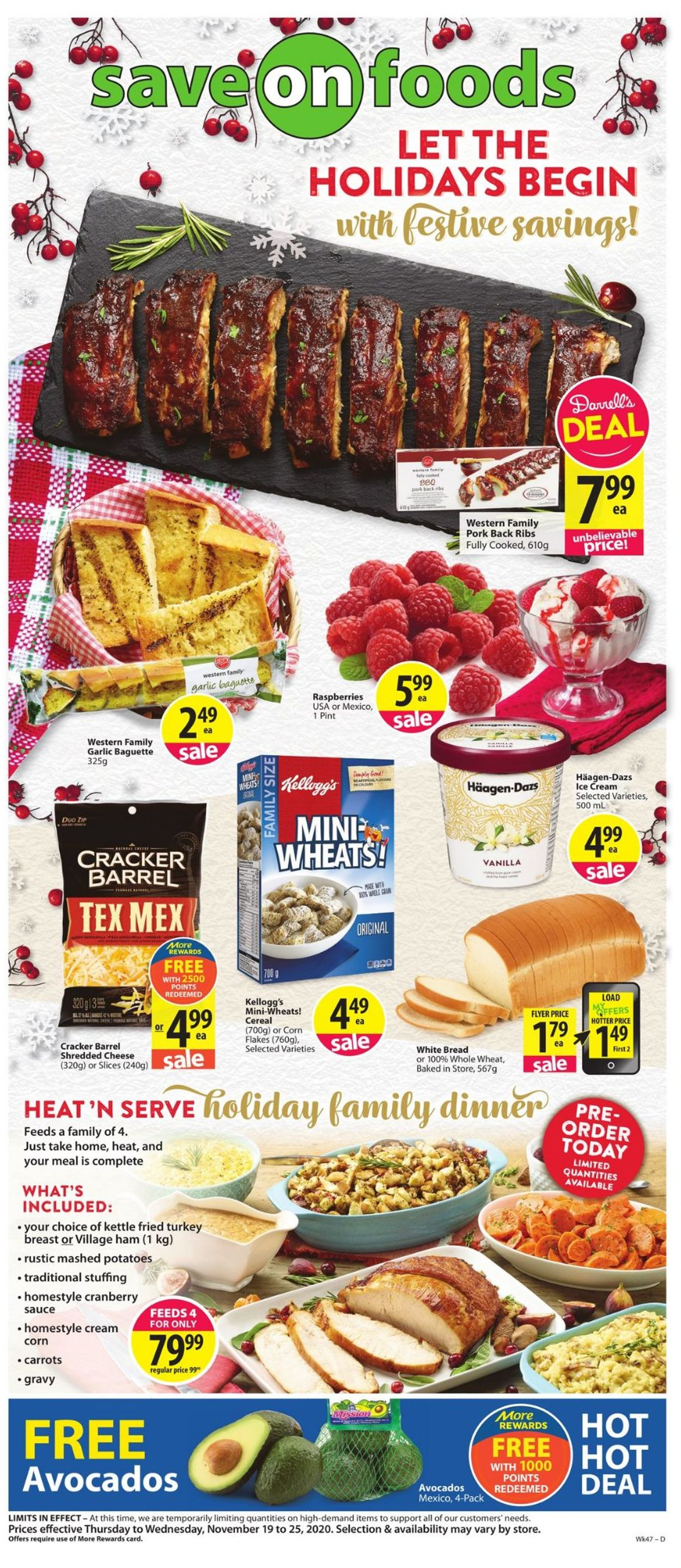 Save-On-Foods Flyer - 11/19-11/25/2020