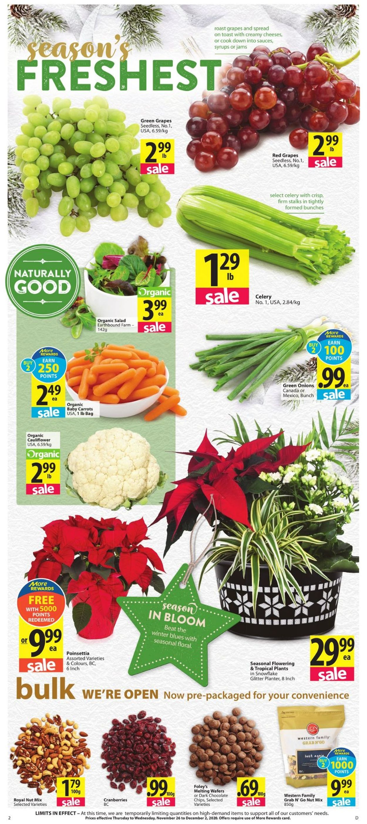Save-On-Foods - Holiday 2020 Flyer - 11/26-12/02/2020 (Page 2)