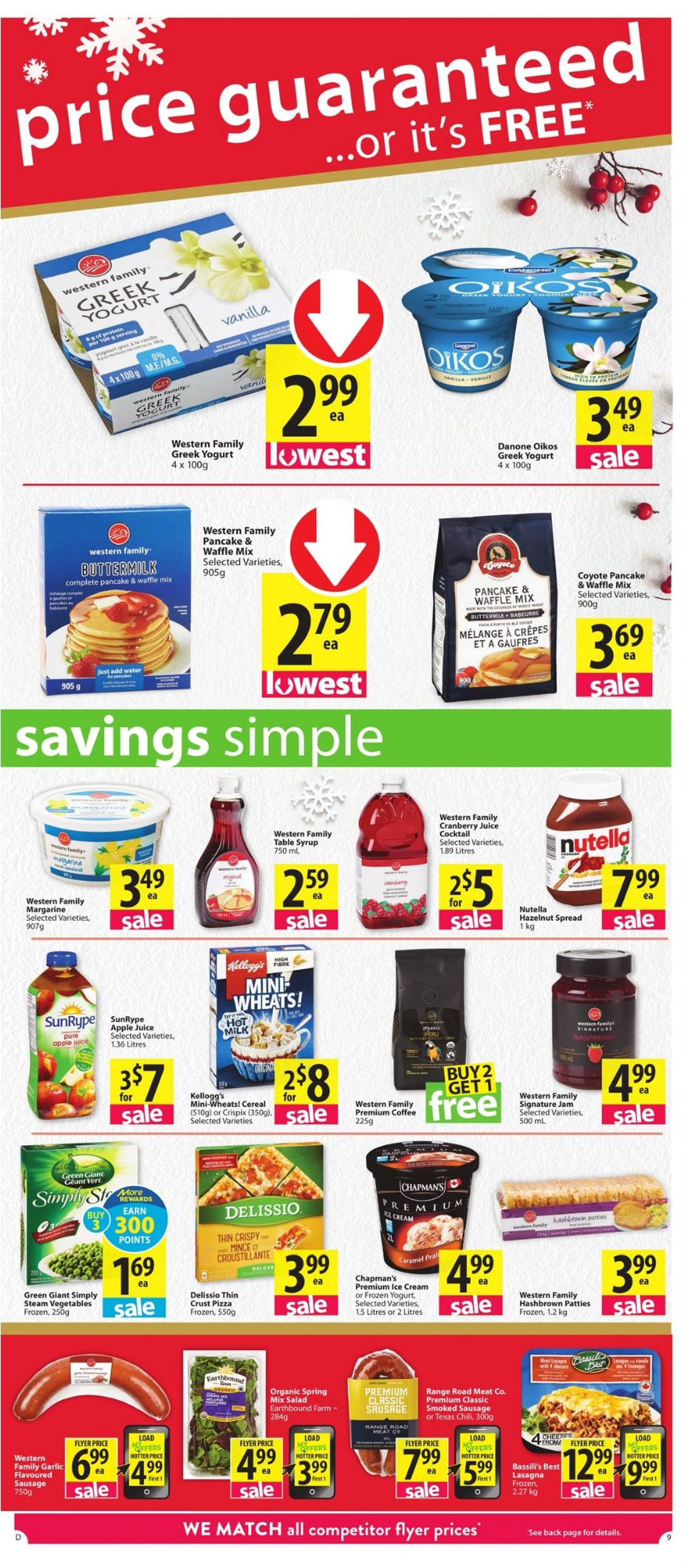 Save-On-Foods - Holiday 2020 Flyer - 12/17-12/26/2020 (Page 9)