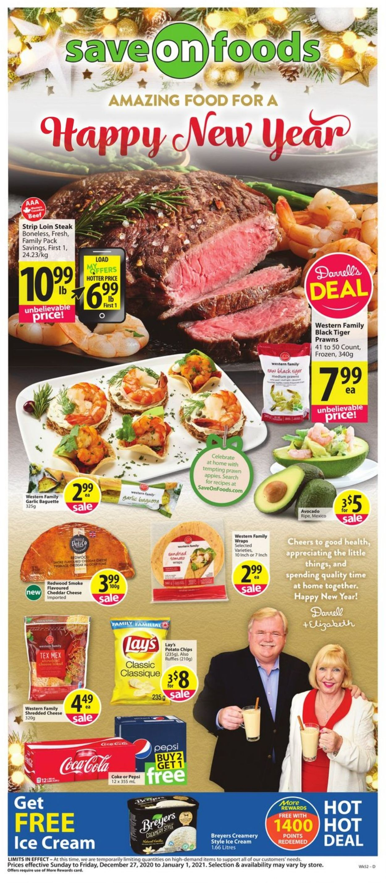 Save-On-Foods Flyer - 12/27-01/01/2021