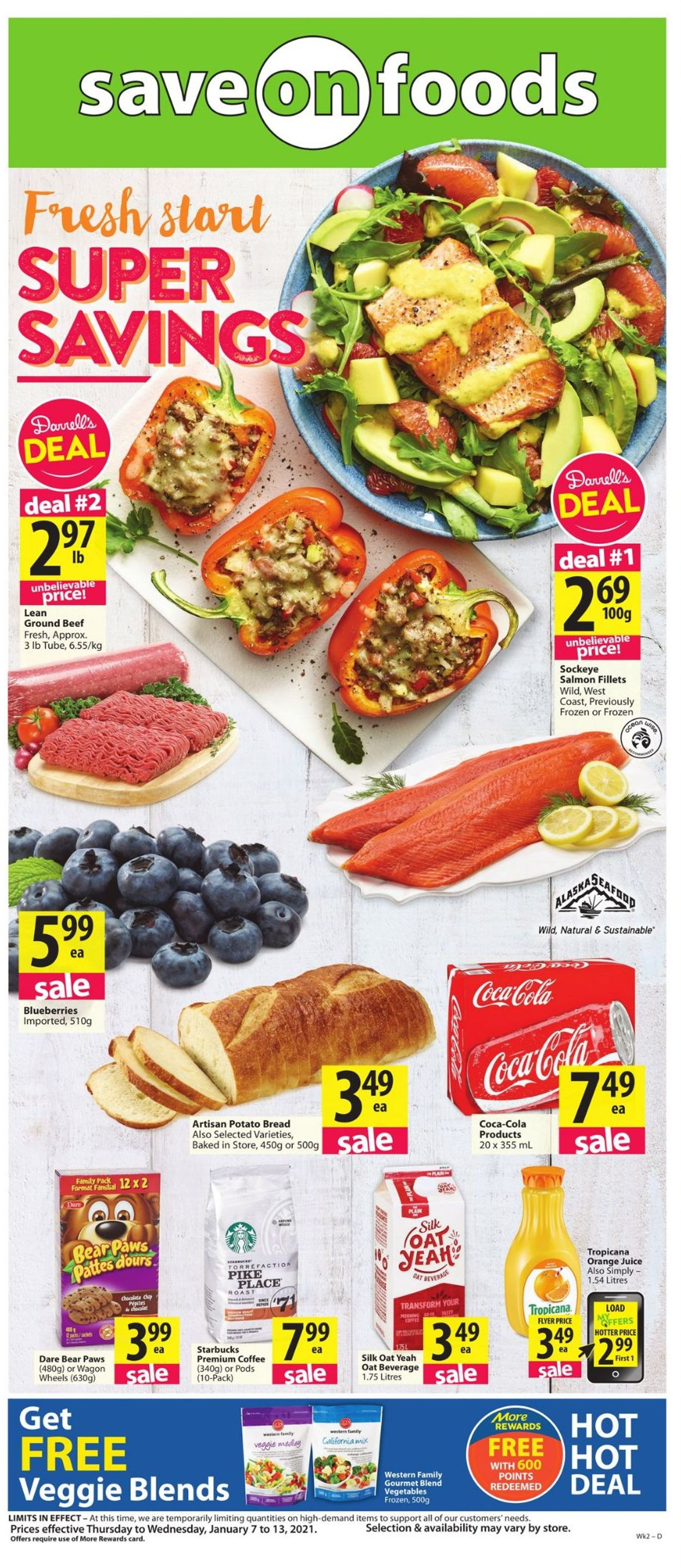 Save-On-Foods Flyer - 01/07-01/13/2021