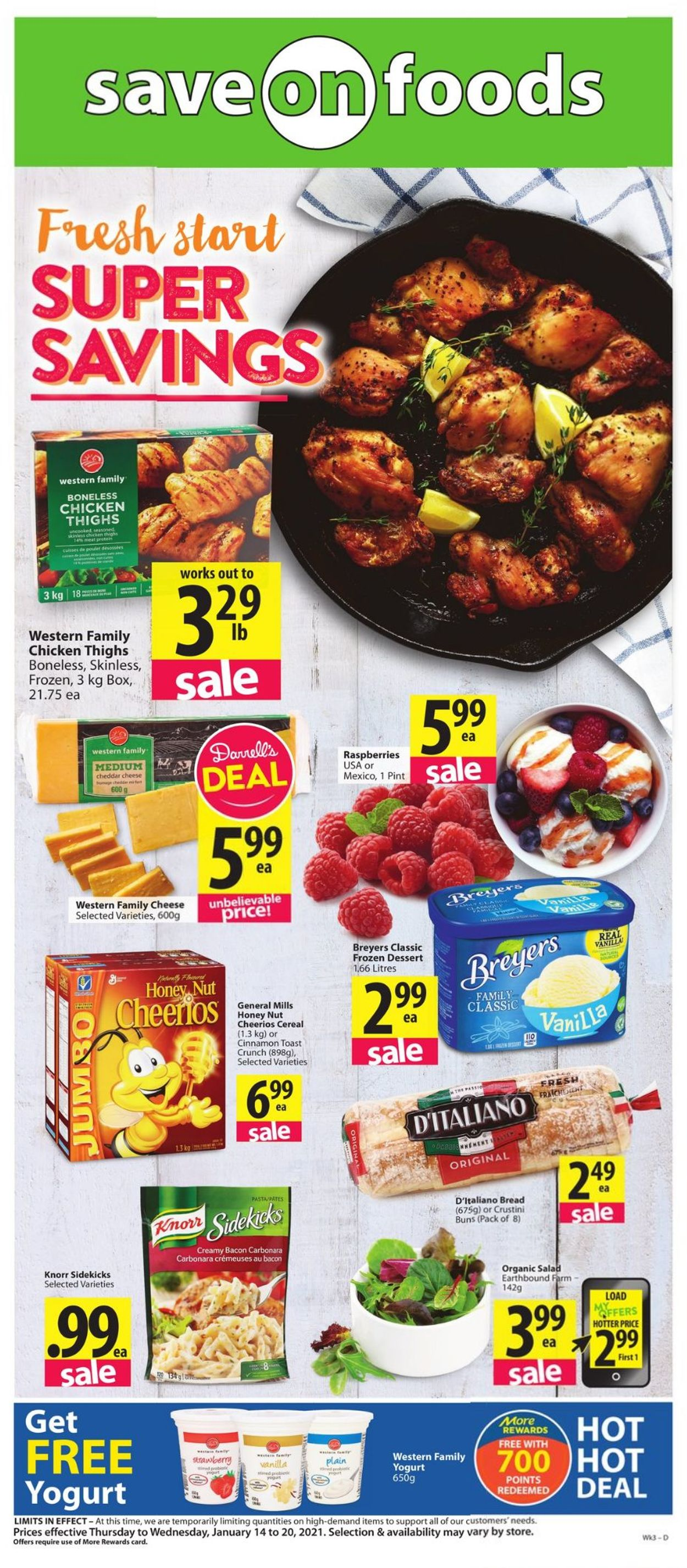 Save-On-Foods Flyer - 01/14-01/20/2021