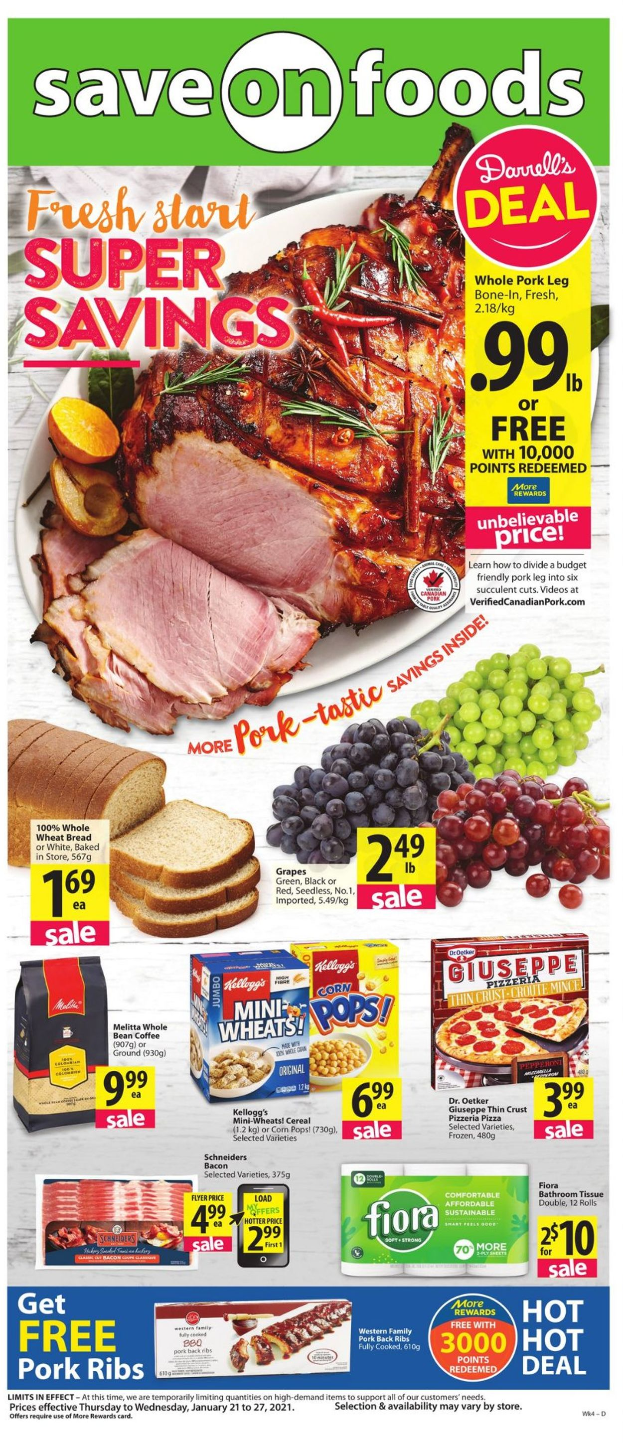 Save-On-Foods Flyer - 01/21-01/27/2021