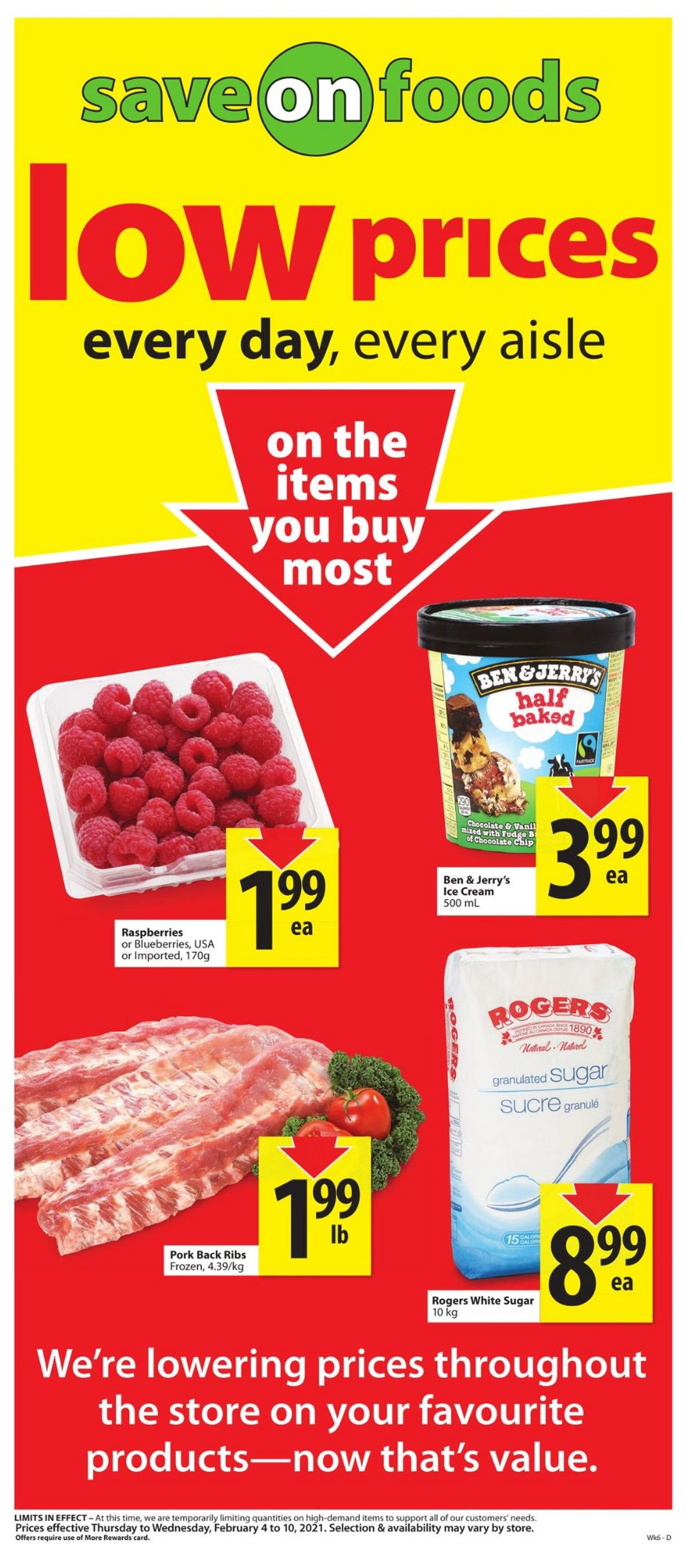 Save-On-Foods Flyer - 02/04-02/10/2021