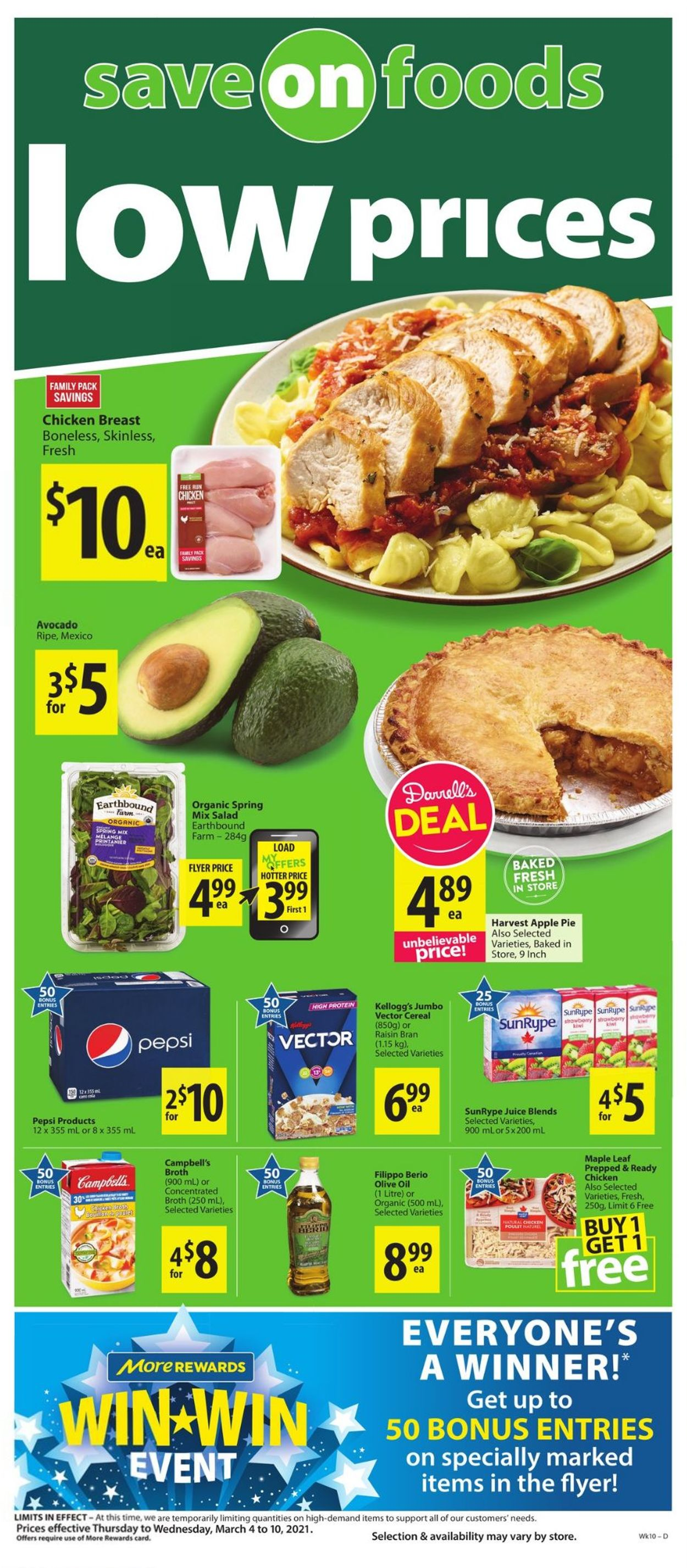 Save-On-Foods Flyer - 03/04-03/10/2021