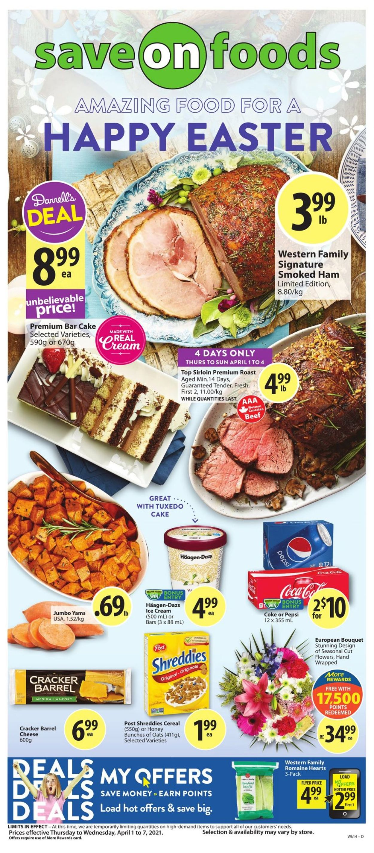 Save-On-Foods Flyer - 04/01-04/07/2021