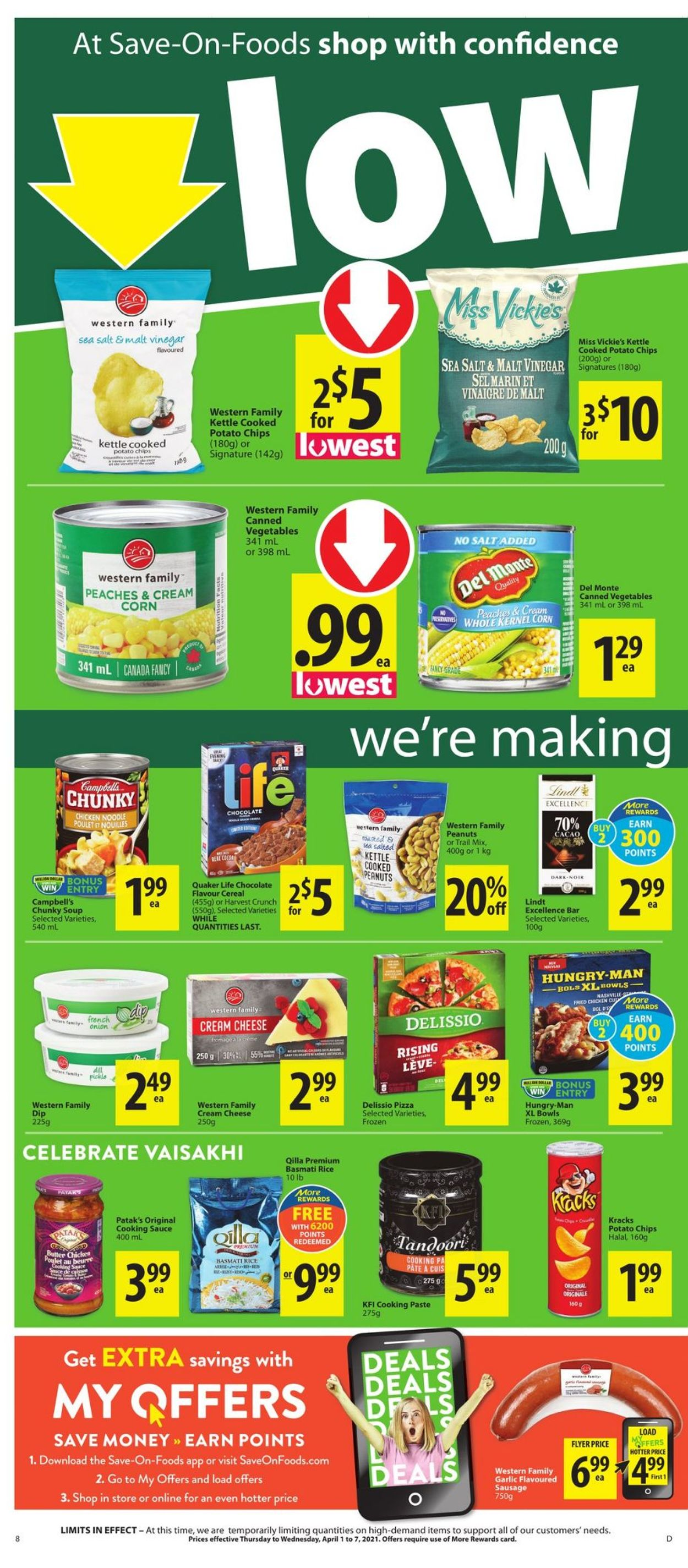 Save-On-Foods Flyer - 04/01-04/07/2021 (Page 8)