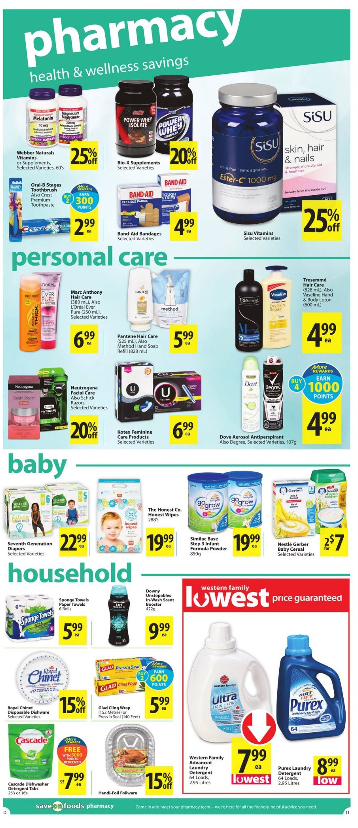 Save-On-Foods Flyer - 04/01-04/07/2021 (Page 11)