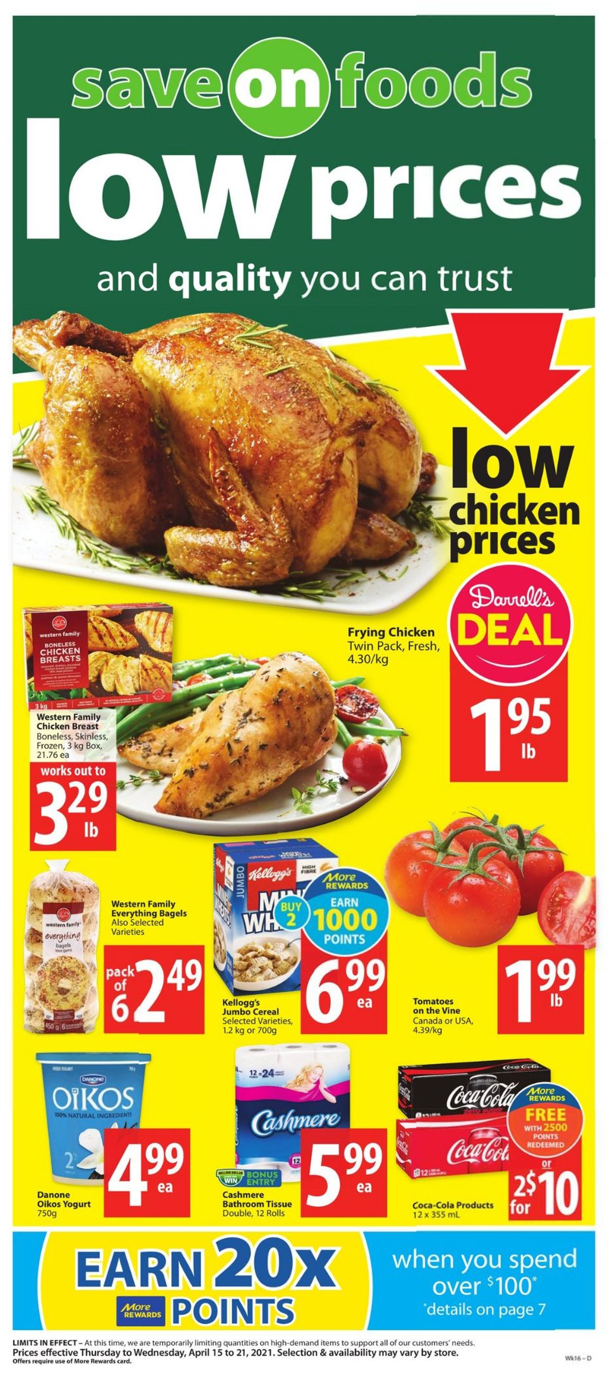Save-On-Foods Flyer - 04/15-04/21/2021