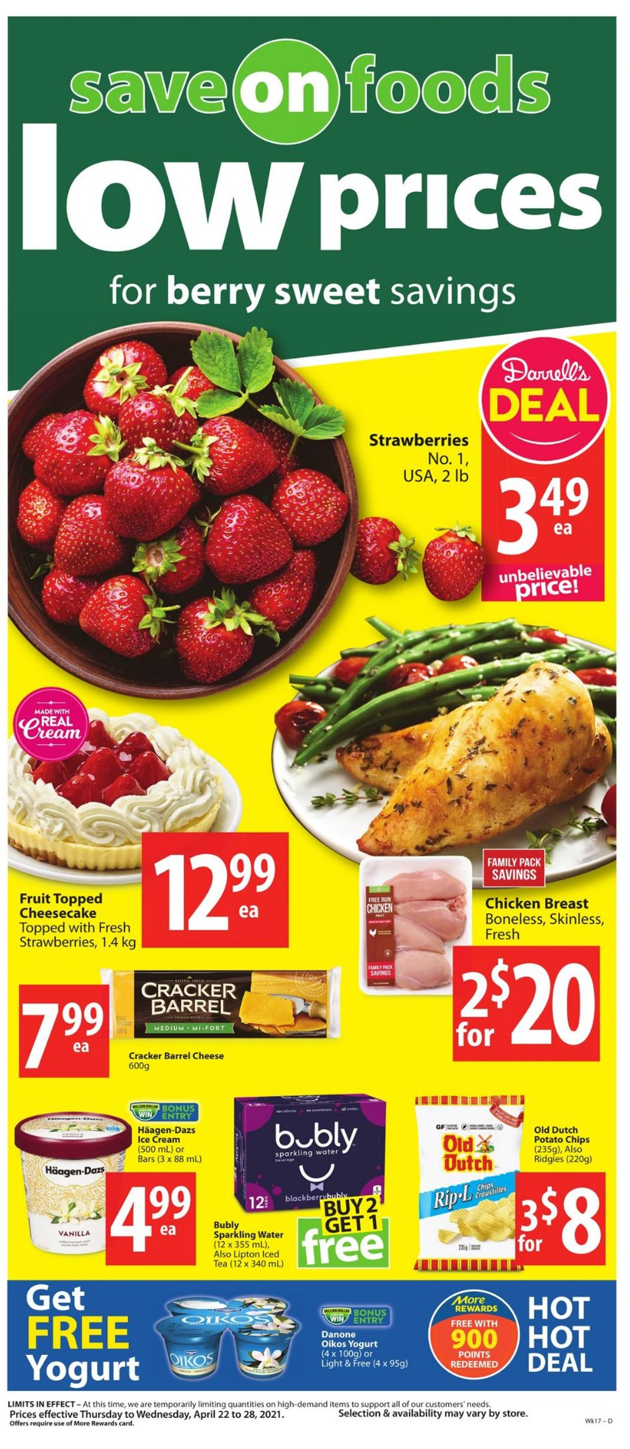Save-On-Foods Flyer - 04/22-04/28/2021