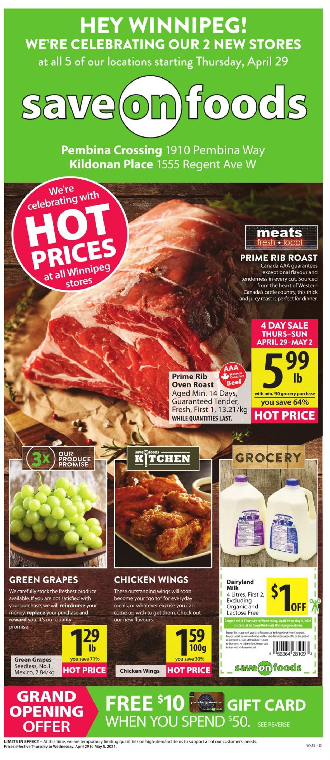 Save-On-Foods Flyer - 04/29-05/05/2021