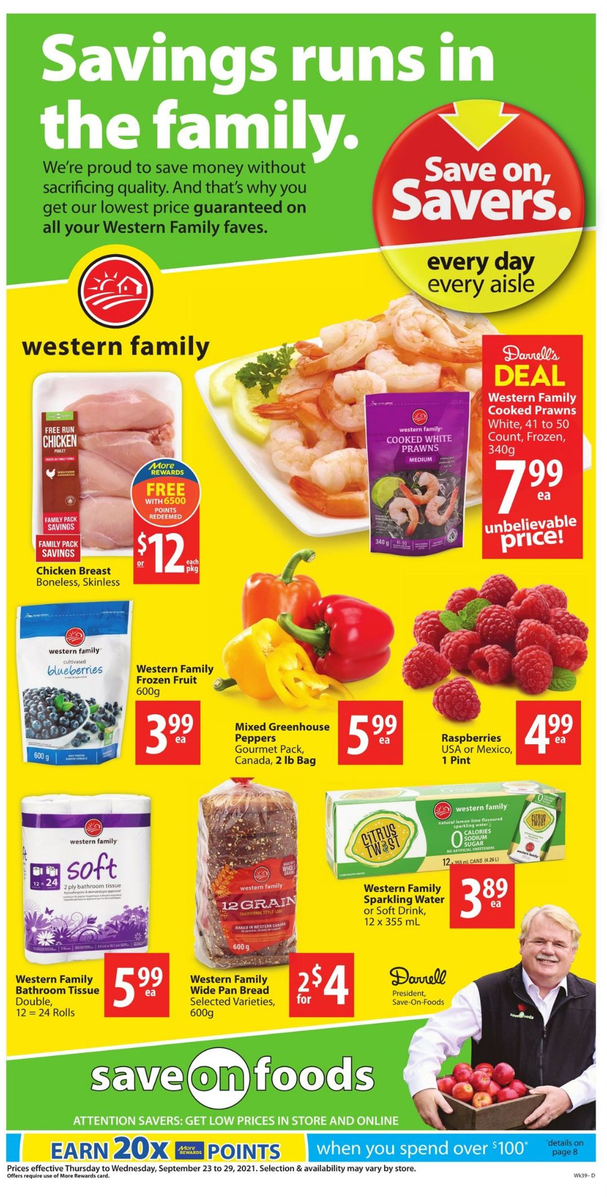 Save-On-Foods Flyer - 09/23-09/29/2021