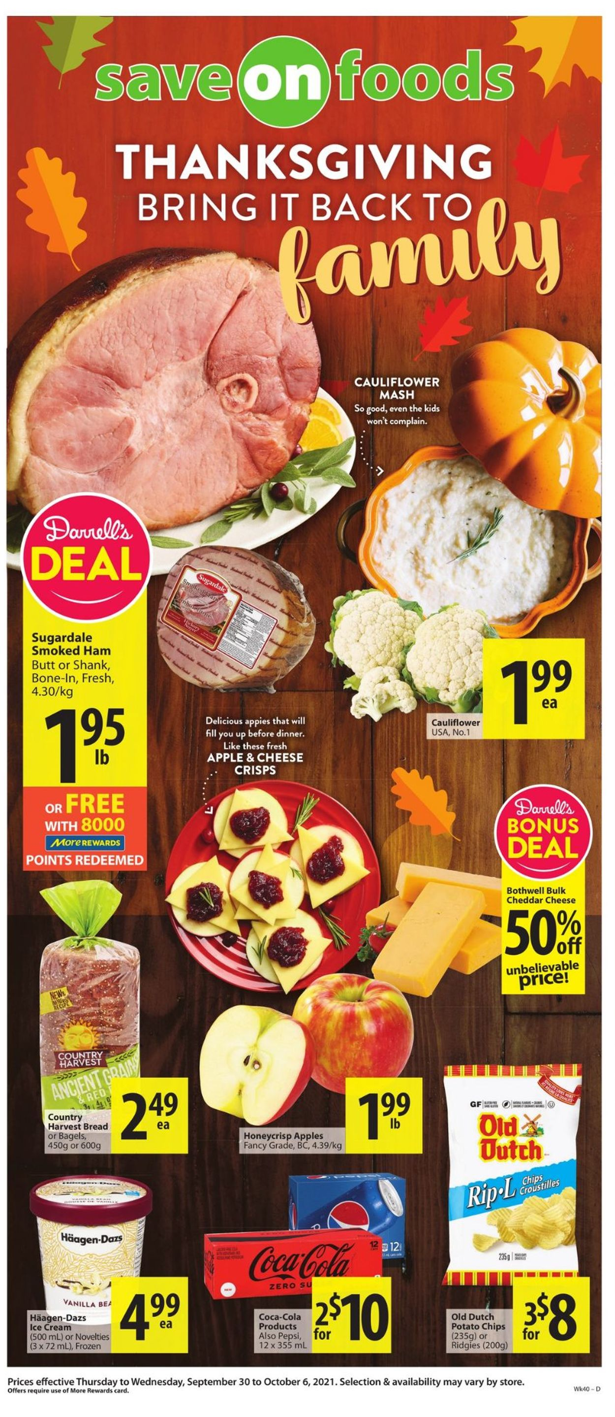 Save-On-Foods Flyer - 09/30-10/06/2021