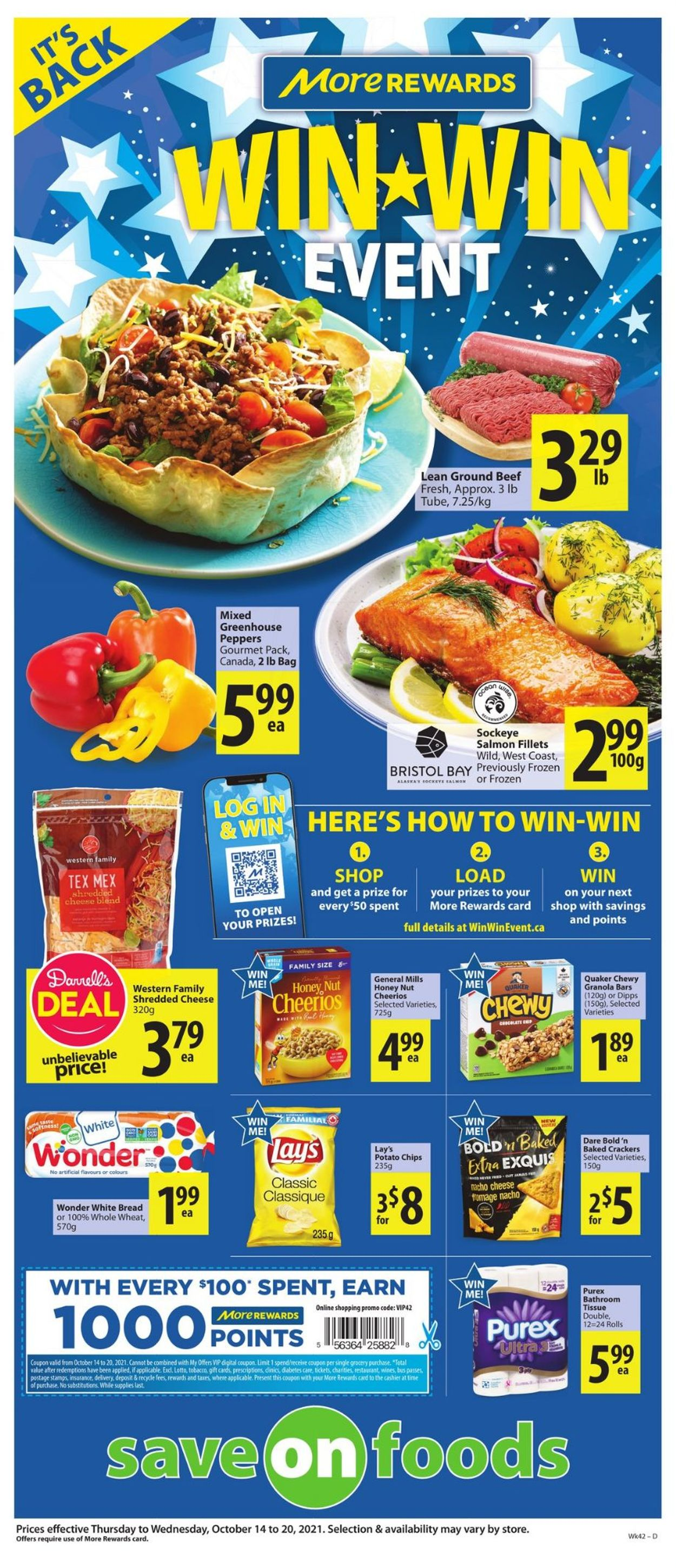 Save-On-Foods Flyer - 10/14-10/20/2021