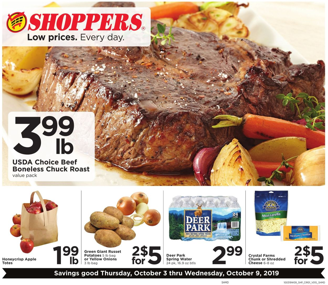 Shoppers Flyer - 10/03-10/09/2019