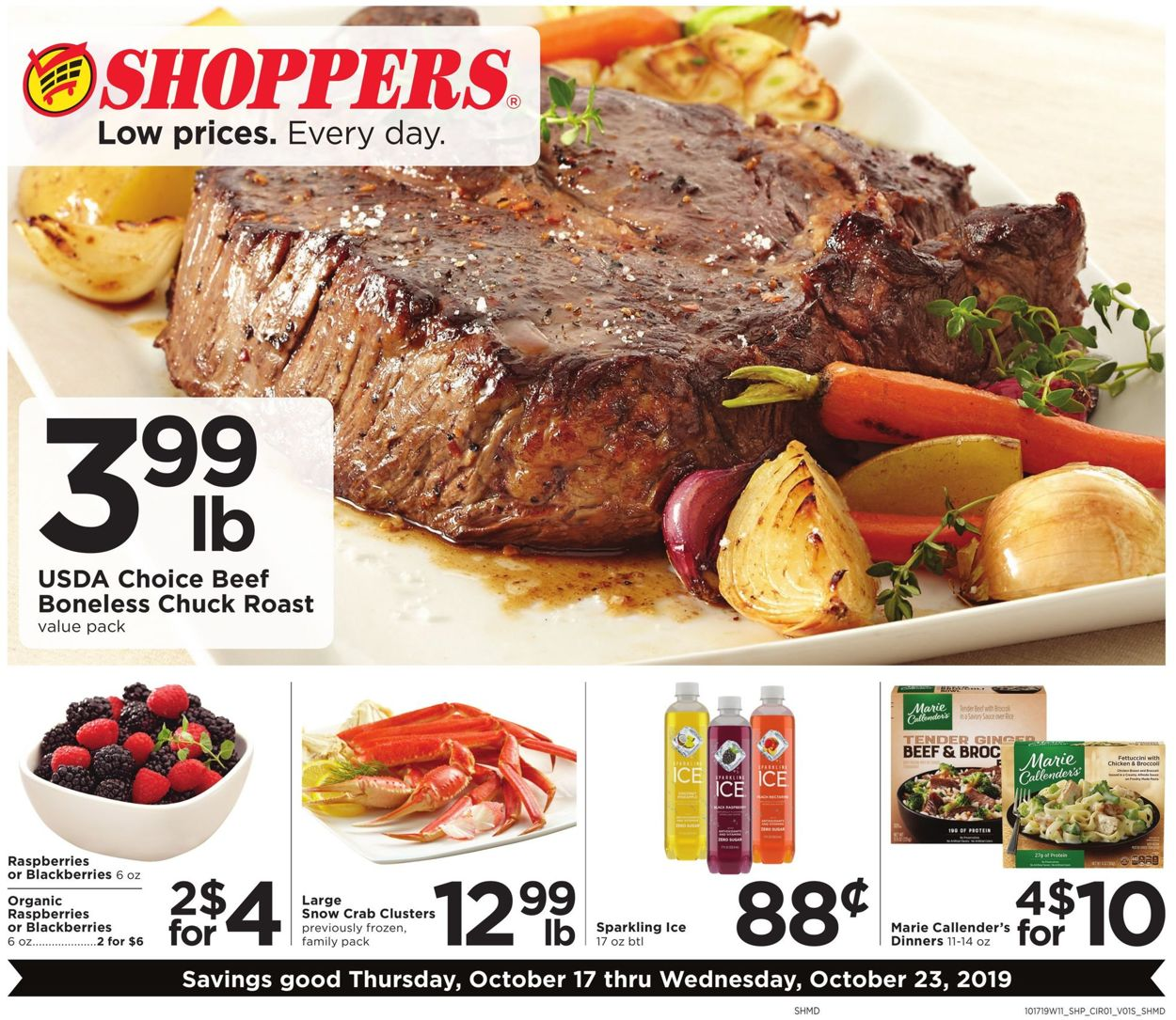 Shoppers Flyer - 10/17-10/23/2019