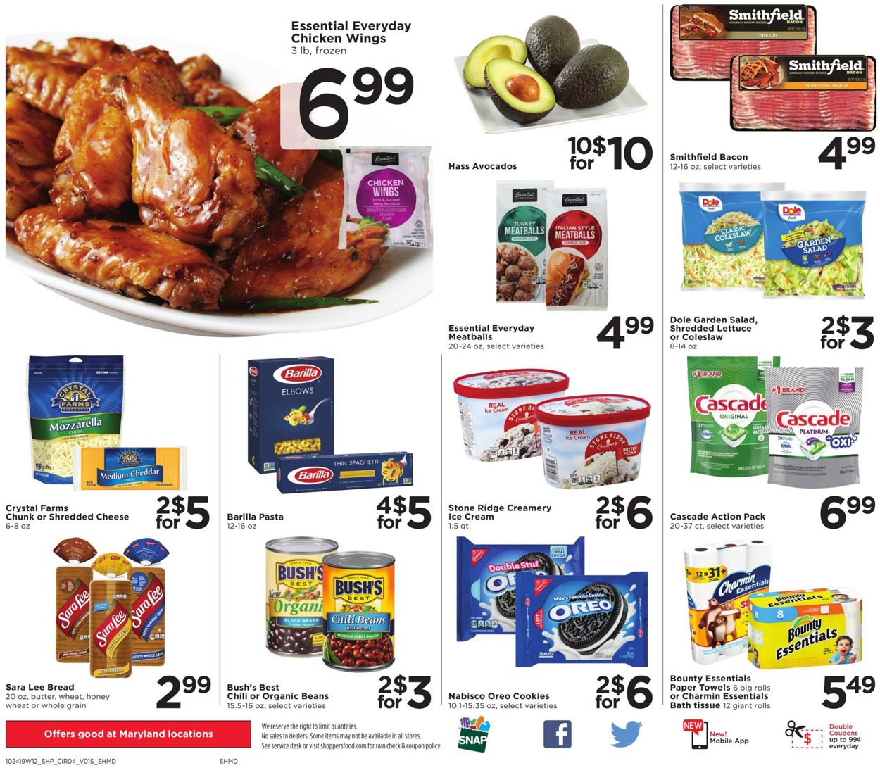 Shoppers Flyer - 10/24-10/30/2019 (Page 4)