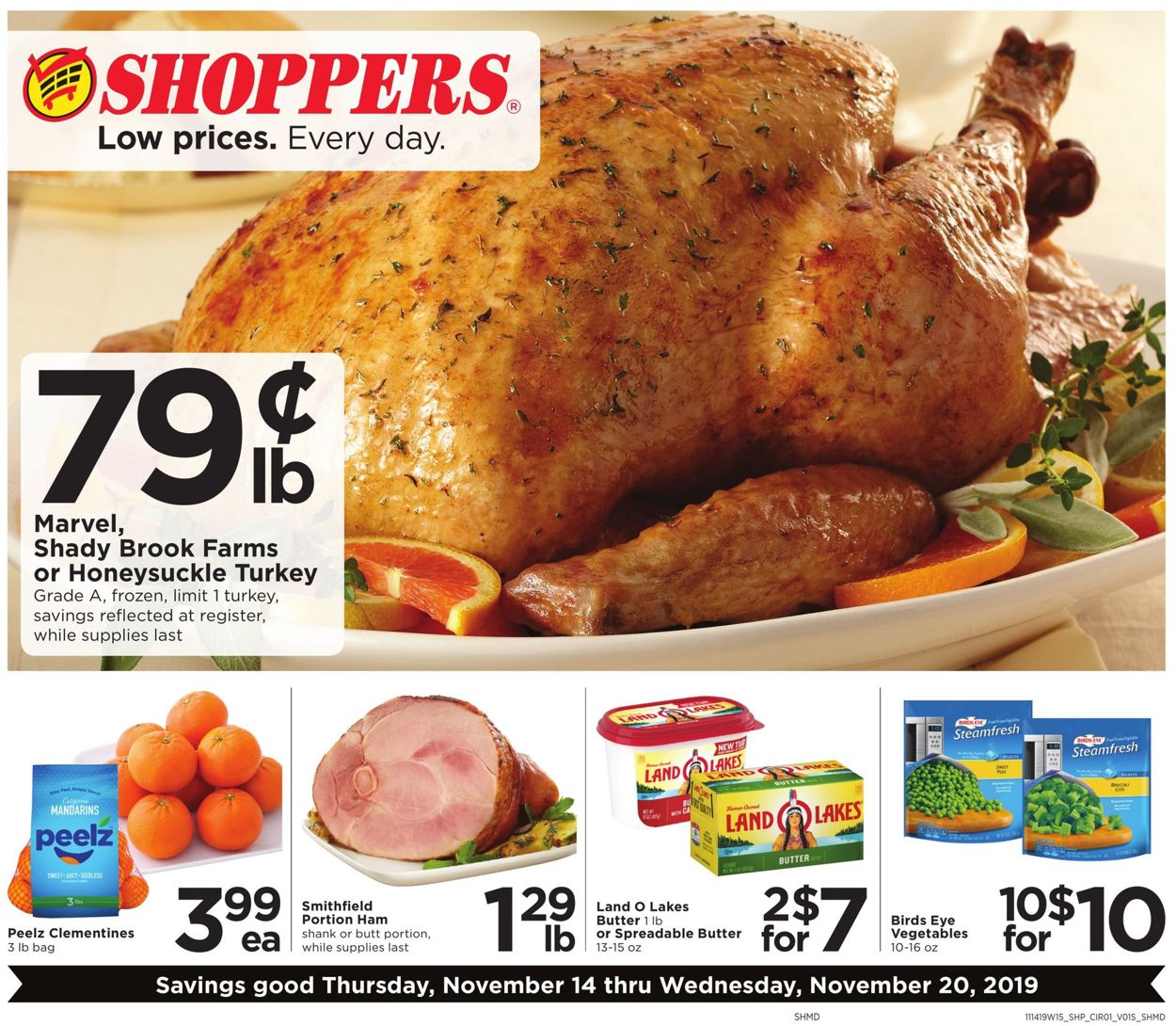 Shoppers Flyer - 11/14-11/20/2019