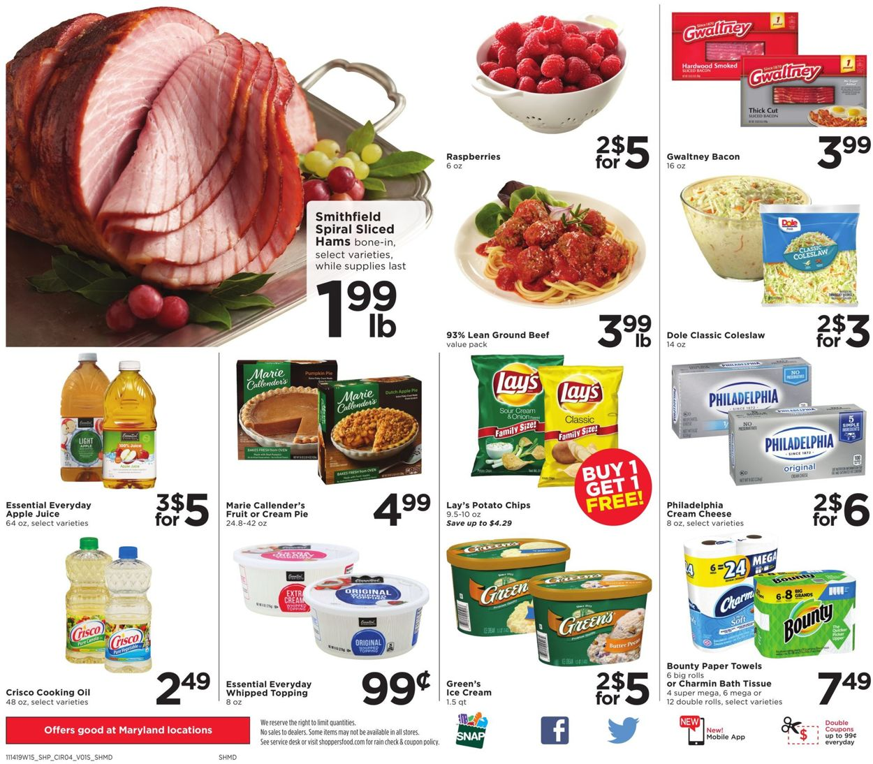 Shoppers Flyer - 11/14-11/20/2019 (Page 4)