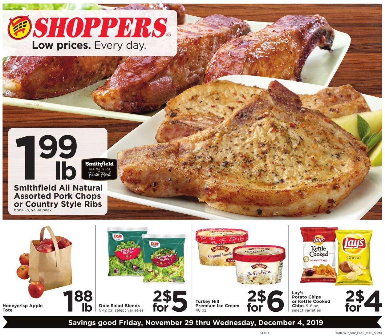 Shoppers Flyer - 11/29-12/04/2019