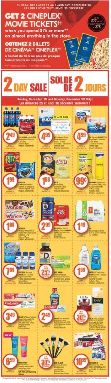 Shoppers Flyer - 12/28-01/03/2020