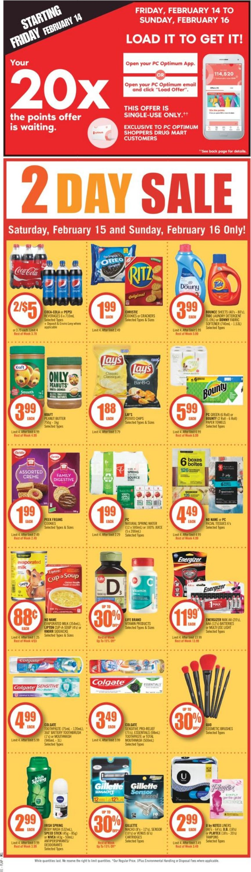 Shoppers Flyer - 02/15-02/21/2020