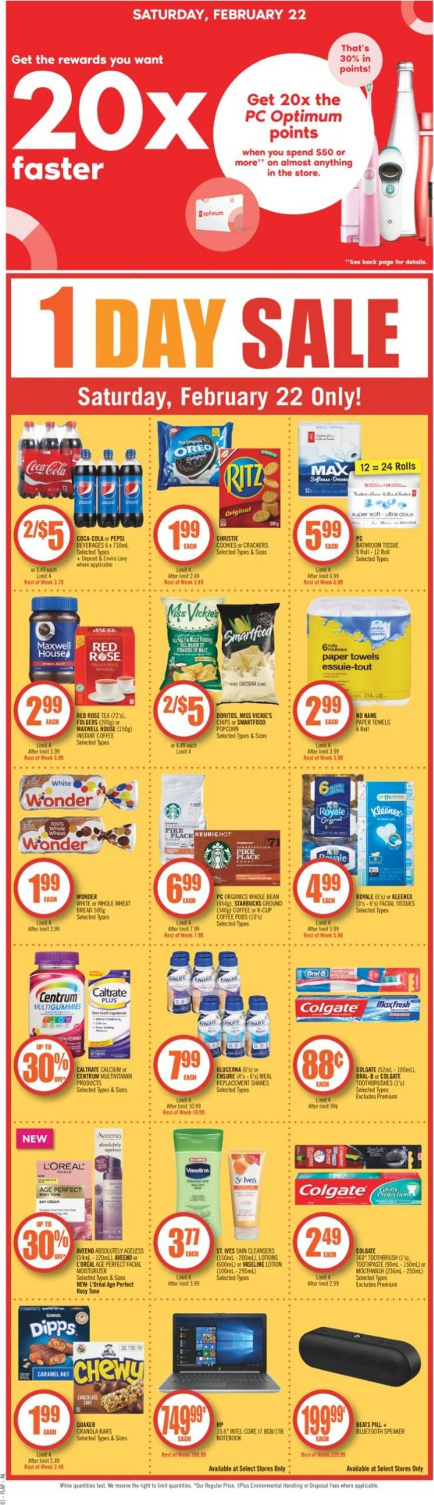 Shoppers Flyer - 02/22-02/27/2020