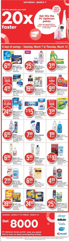 Shoppers Flyer - 03/07-03/12/2020