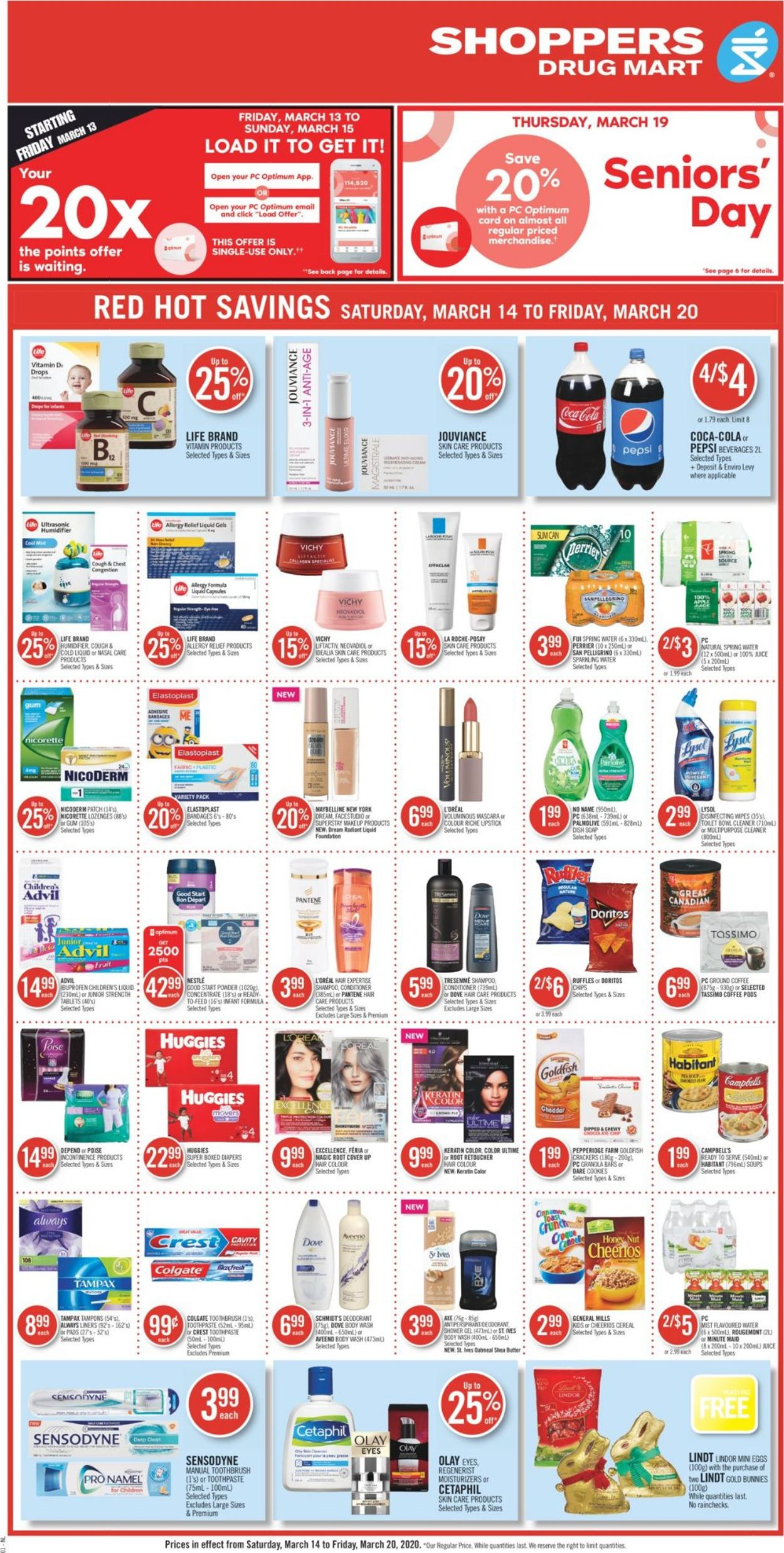 Shoppers Flyer - 03/14-03/20/2020 (Page 3)