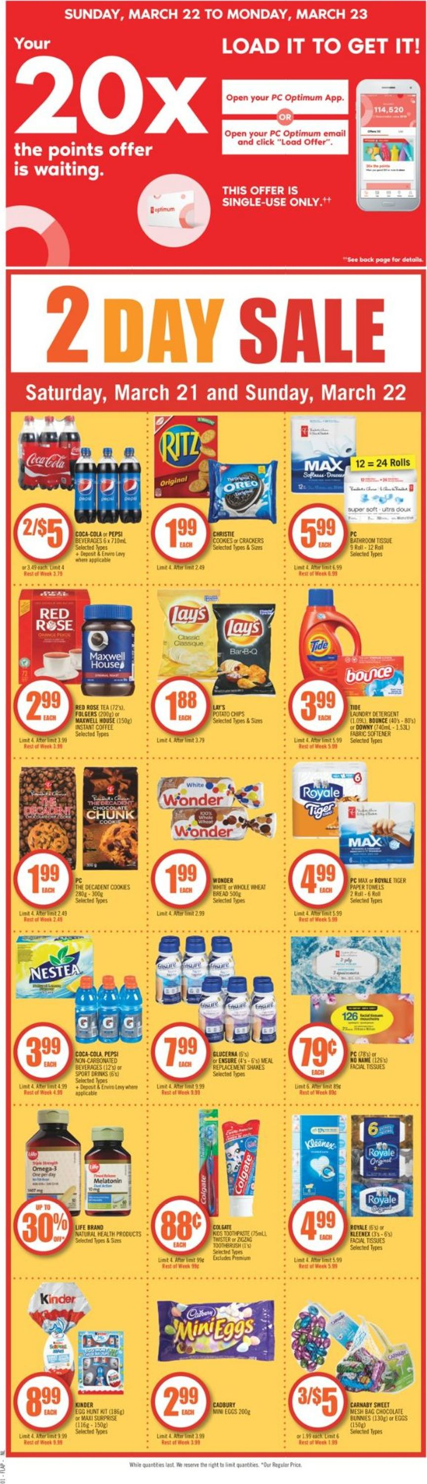 Shoppers Flyer - 03/21-03/27/2020