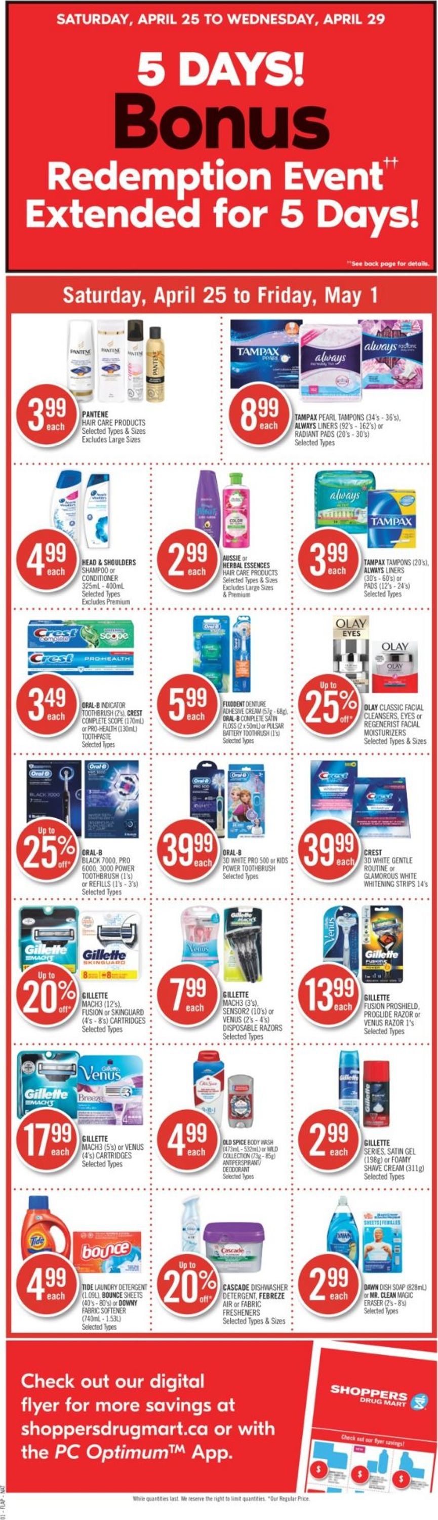 Shoppers Flyer - 04/25-05/01/2020 (Page 2)