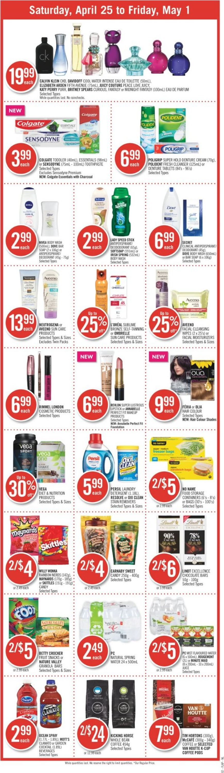 Shoppers Flyer - 04/25-05/01/2020 (Page 3)