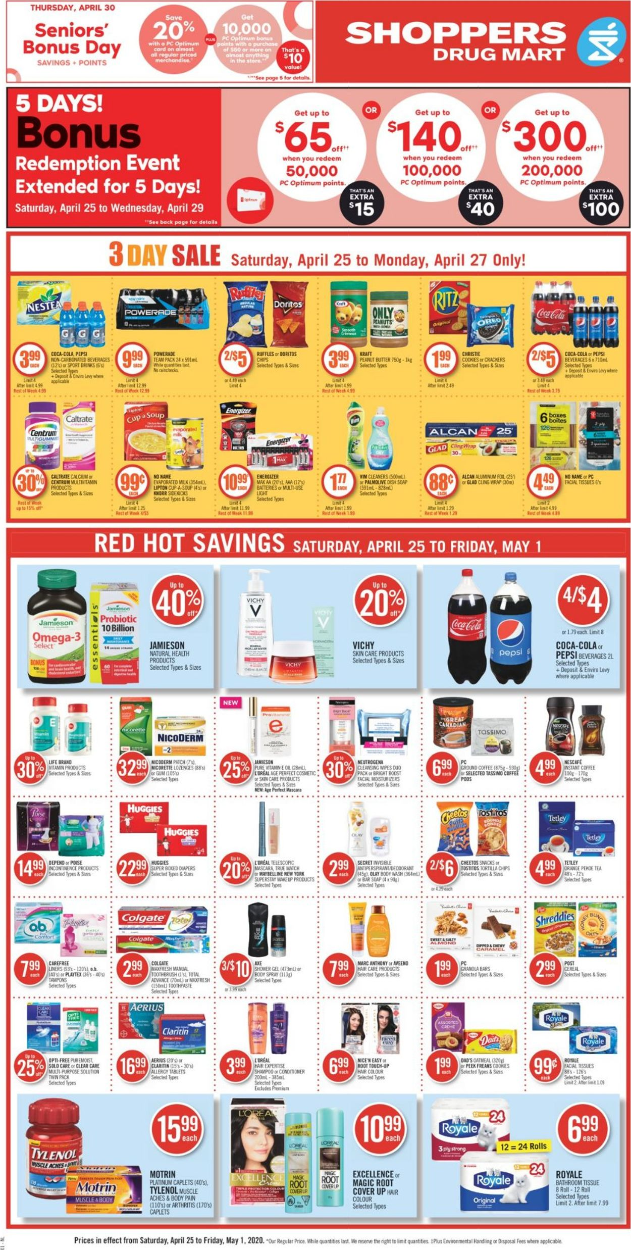 Shoppers Flyer - 04/25-05/01/2020 (Page 4)