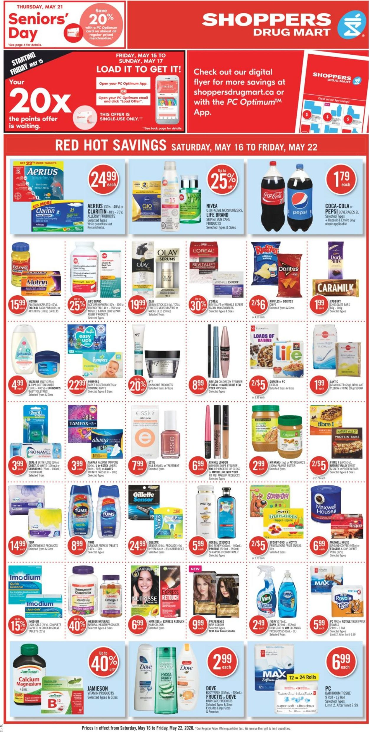 Shoppers Flyer - 05/16-05/22/2020 (Page 4)