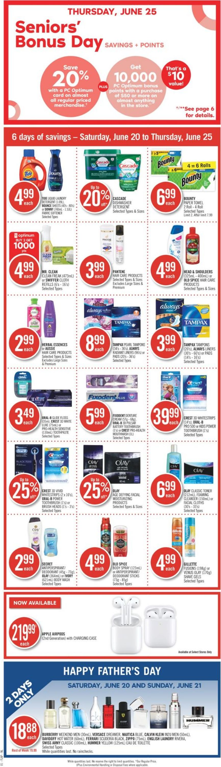 Shoppers Flyer - 06/20-06/25/2020
